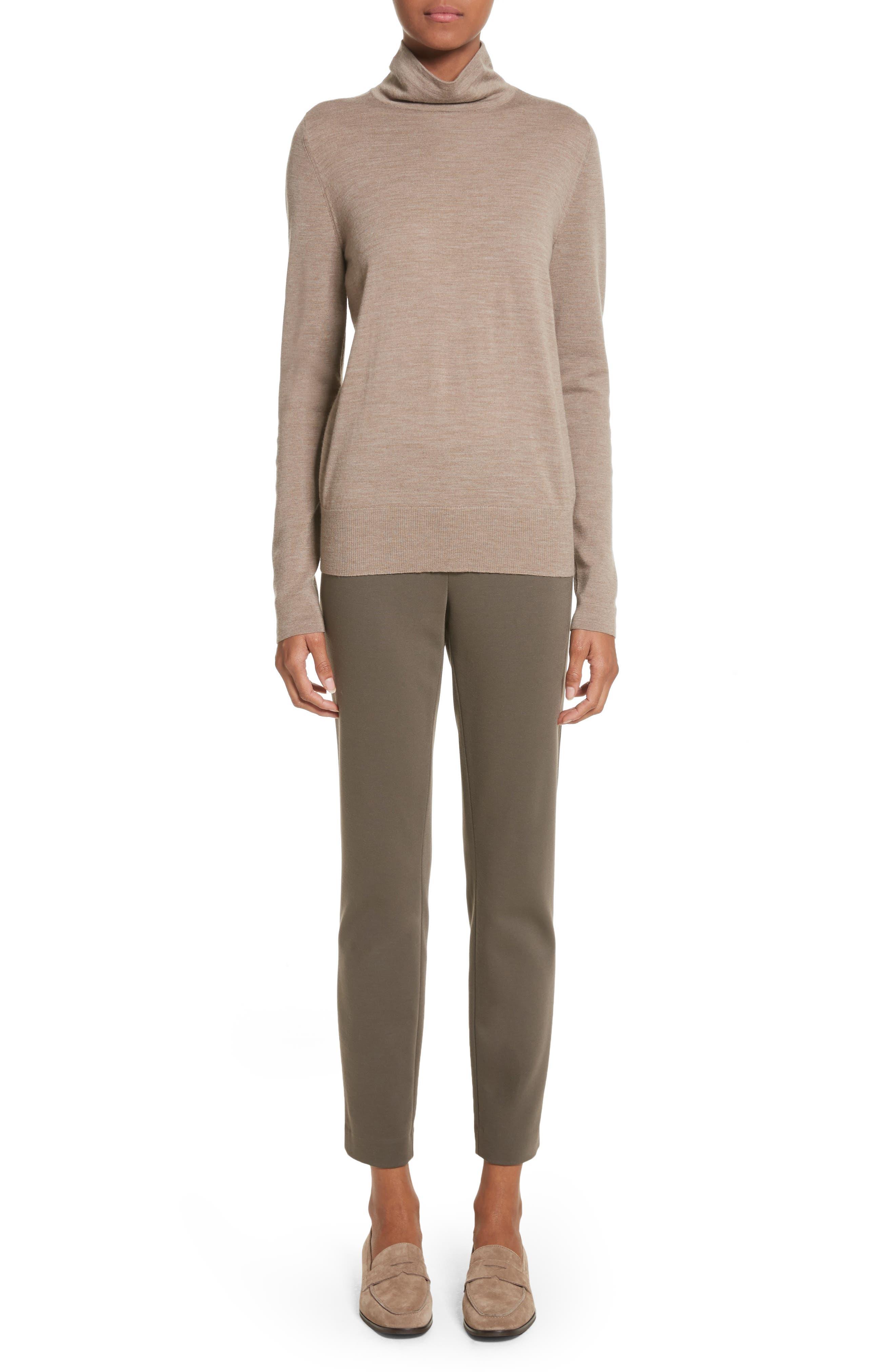 Alternate Image 2  - Lafayette 148 New York Heyward Punto Milano Slim Pants (Regular & Petite)
