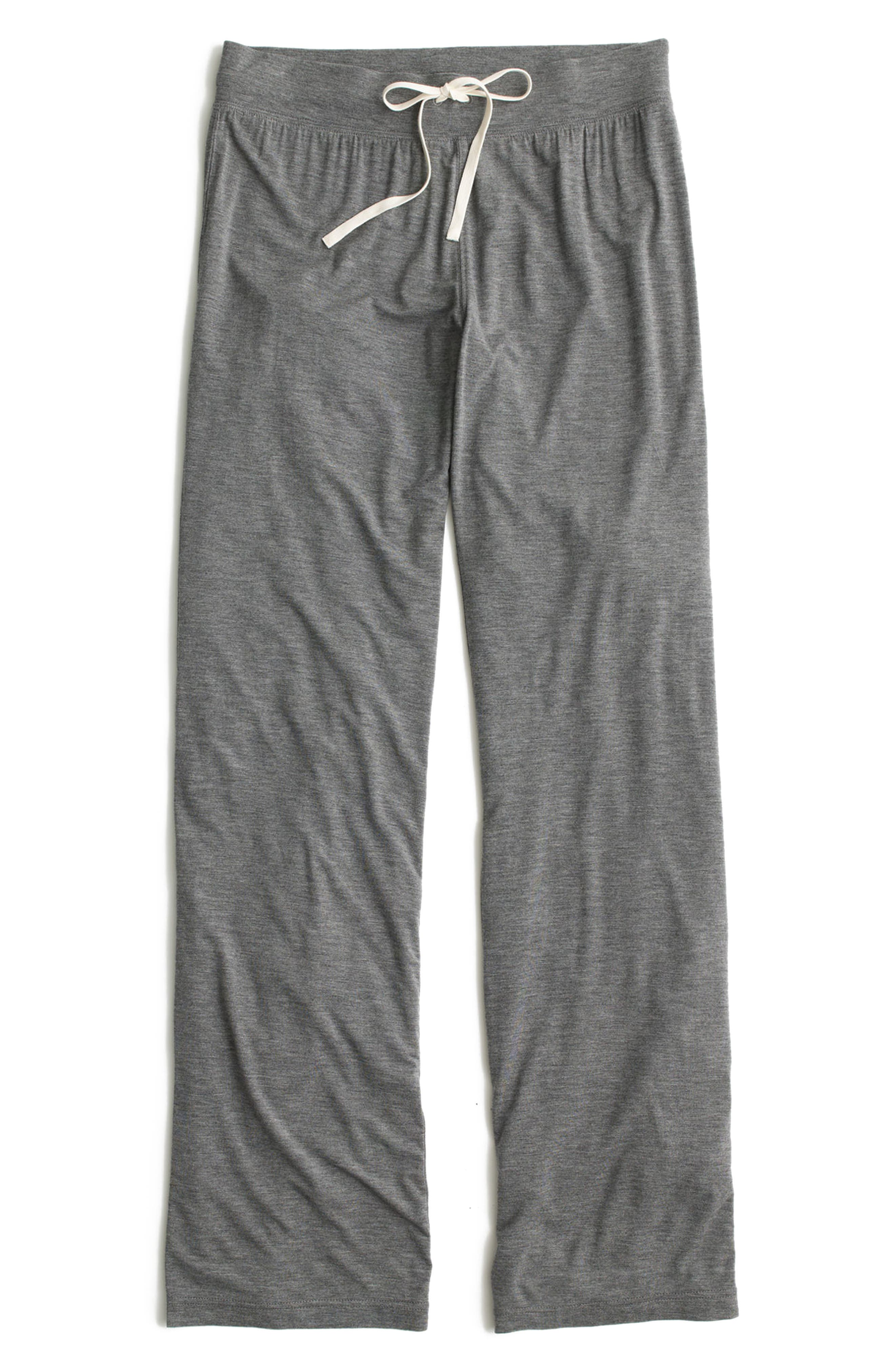 Dreamy Lounge Pants,                         Main,                         color, Heather Pewter