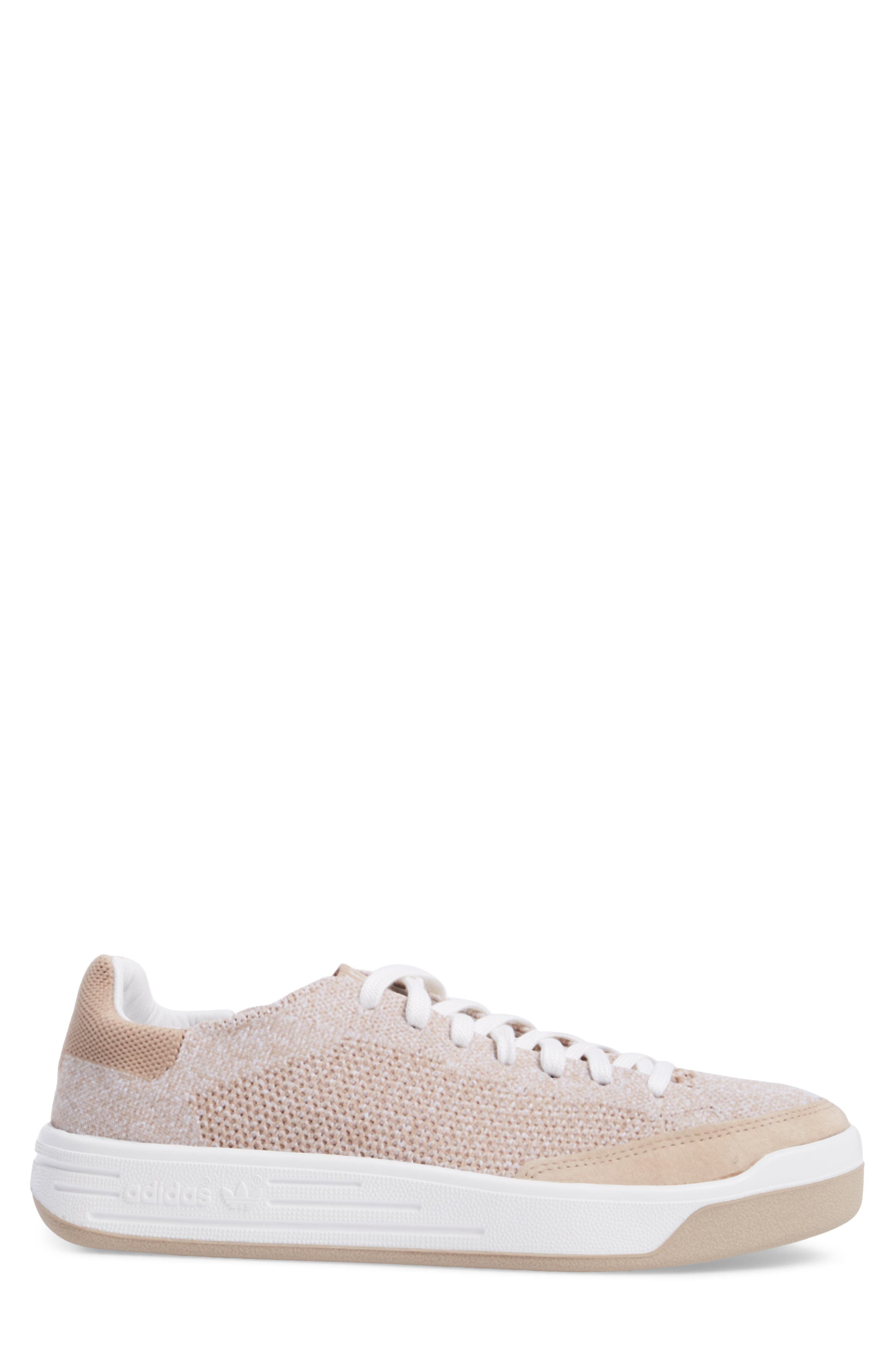 Rod Laver Super Primeknit Sneaker,                             Alternate thumbnail 3, color,                             Khaki/ White/ Crystal White
