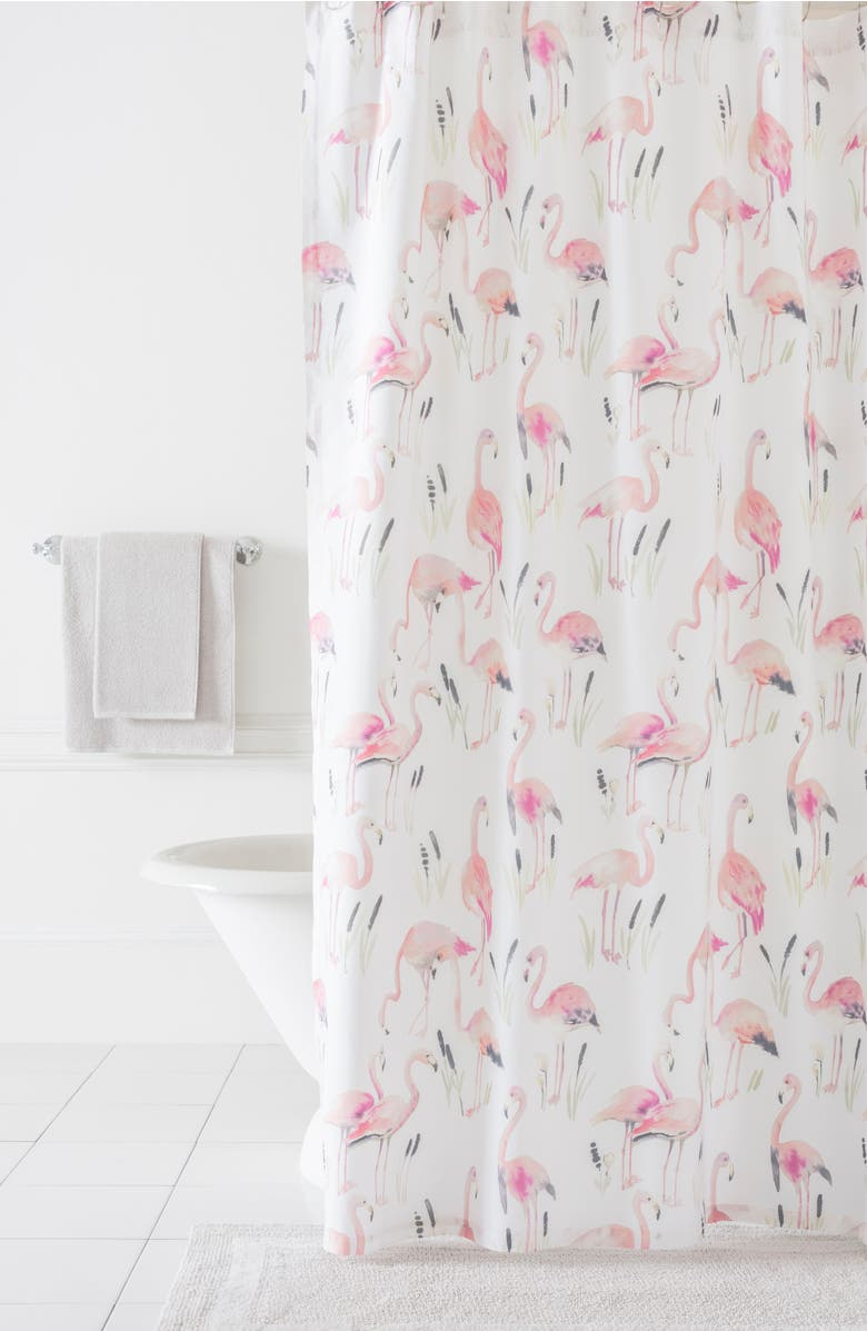 Flamingos Shower Curtain | Nordstrom