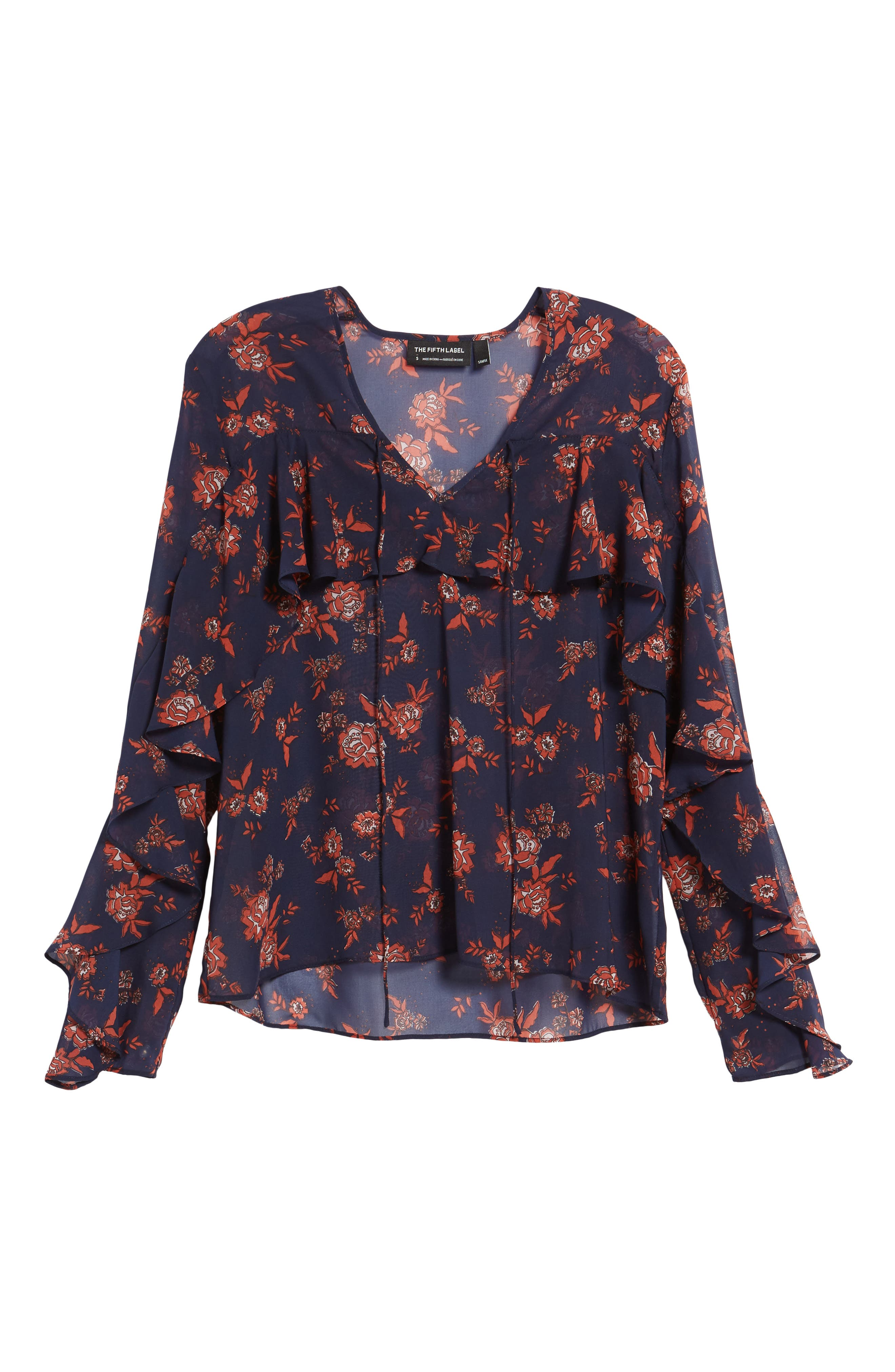 Alternate Image 6  - The Fifth Label Capital Floral Blouse