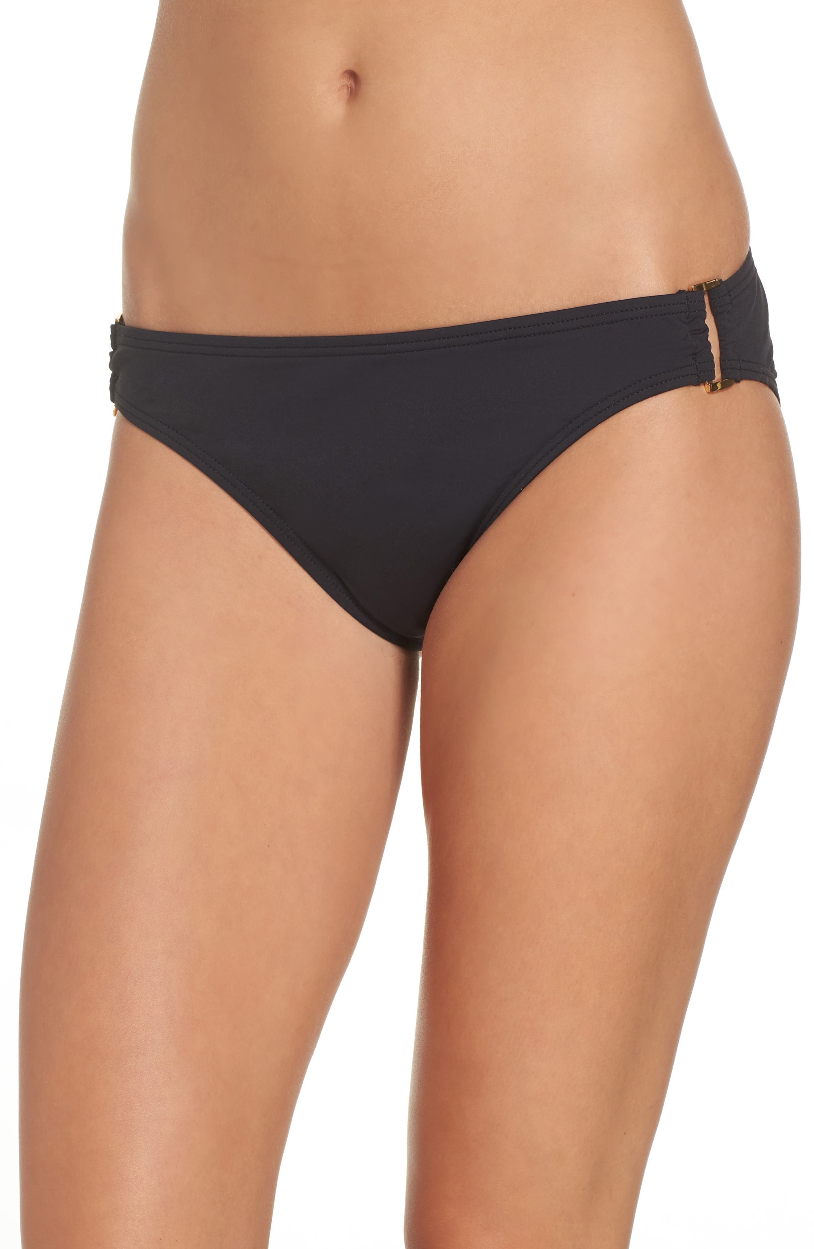 Hipster Bikini,                         Main,                         color, Black
