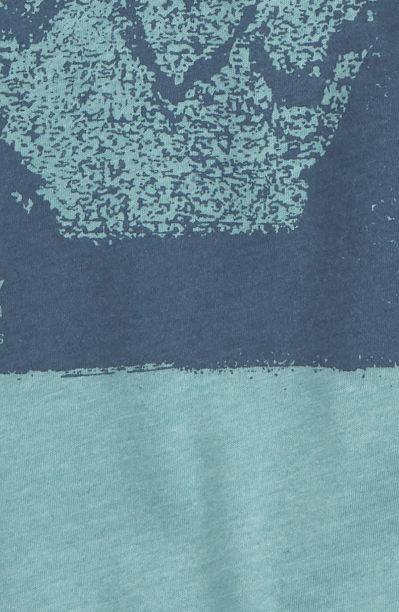 Disruption Graphic Shirt,                             Alternate thumbnail 2, color,                             Sea Blue