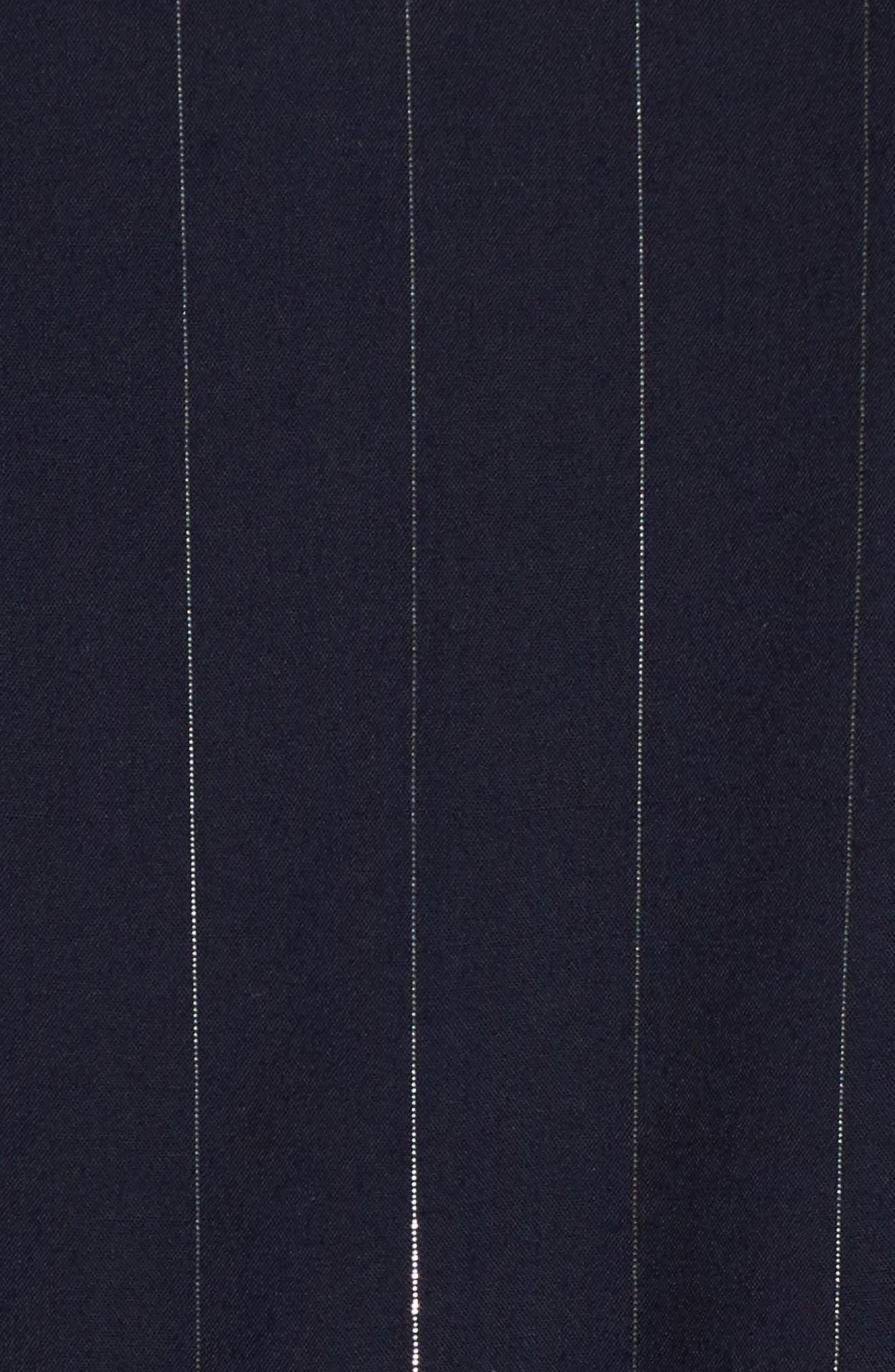Lydia Shift Dress,                             Alternate thumbnail 5, color,                             Panama Stripe