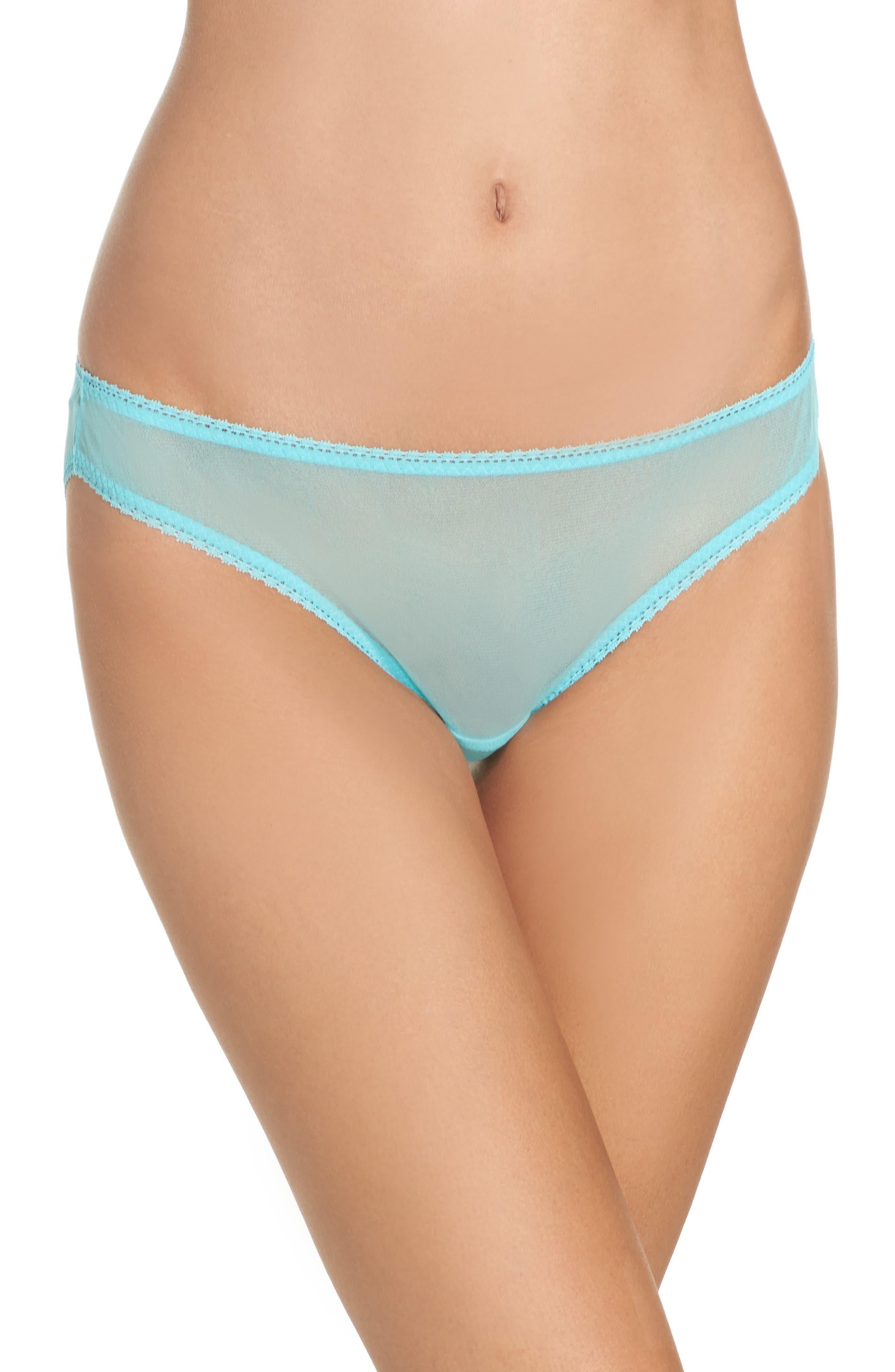 Main Image - On Gossamer Mesh Bikini (3 for $45)