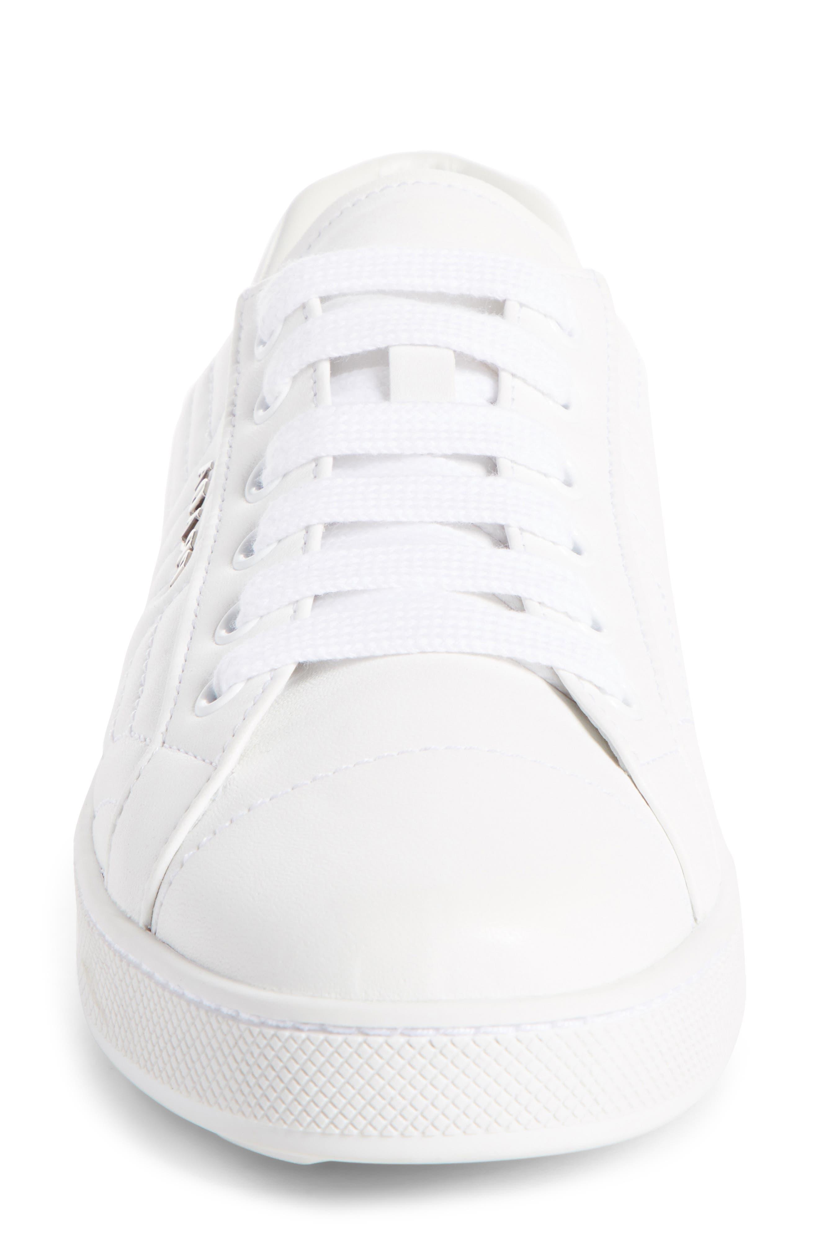 Alternate Image 3  - Prada Quilted Leather Sneaker (Women)