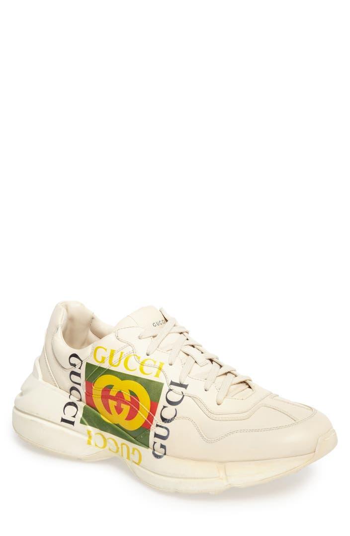 Gucci Rhyton Sneaker Men Nordstrom