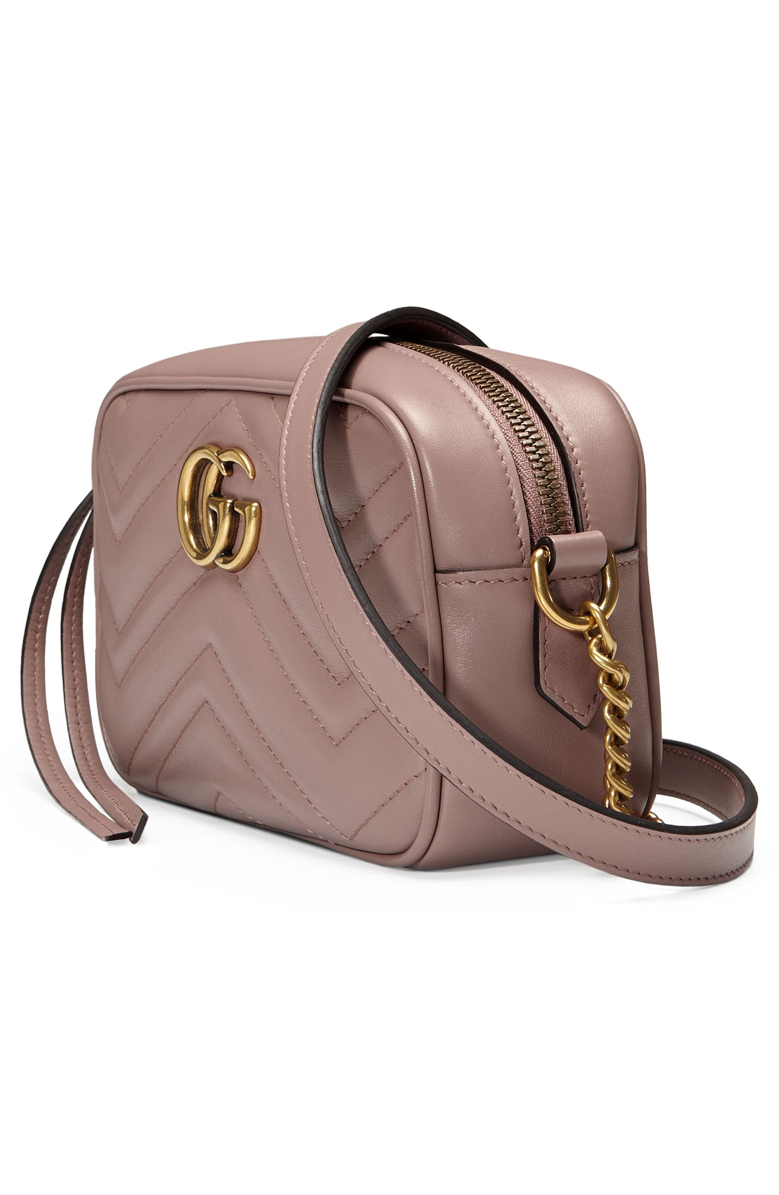 Alternate Image 4  - Gucci GG Marmont 2.0 Matelassé Leather Shoulder Bag