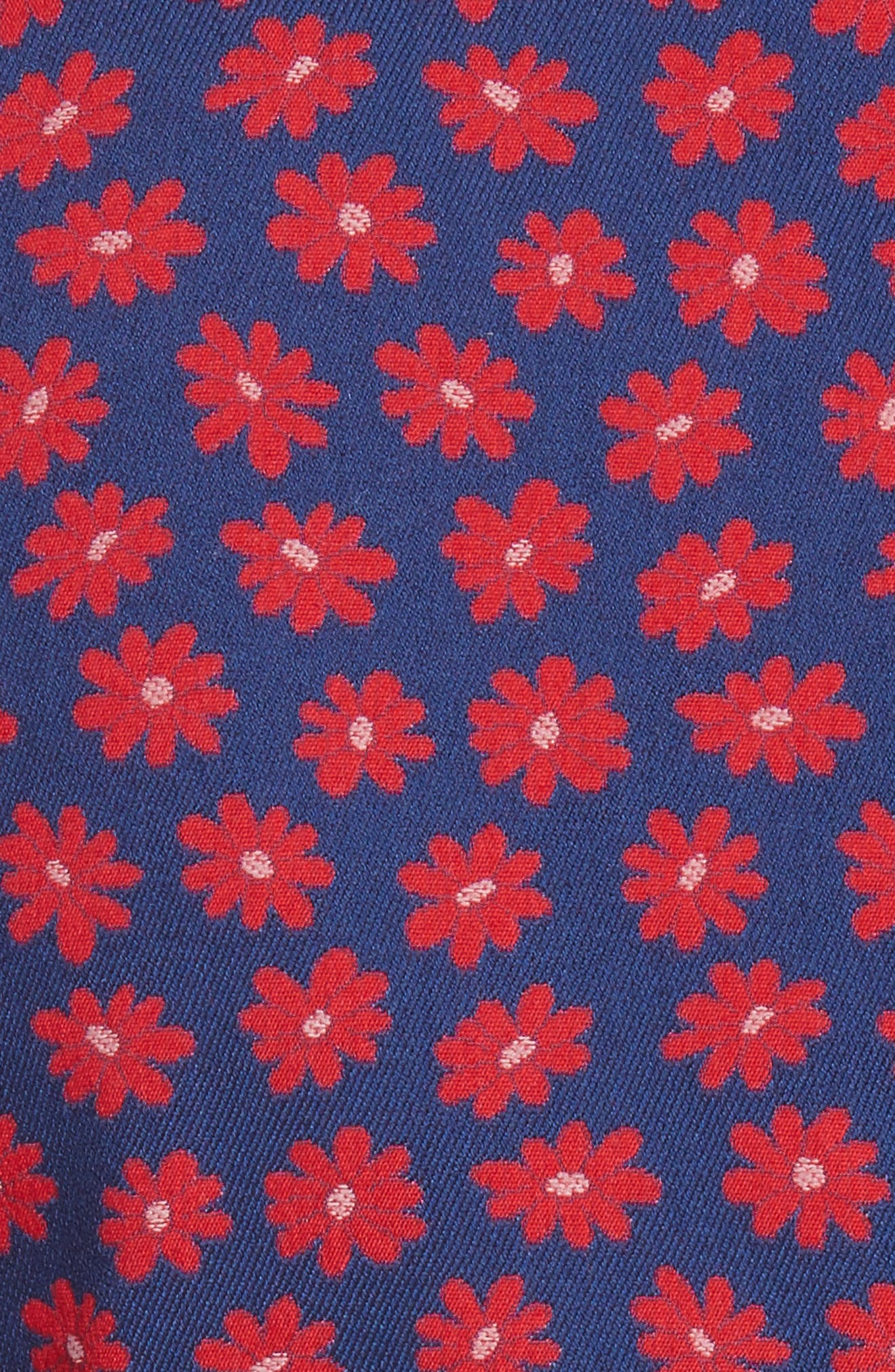 Greyson Floral Blazer,                             Alternate thumbnail 5, color,                             Navy Multi