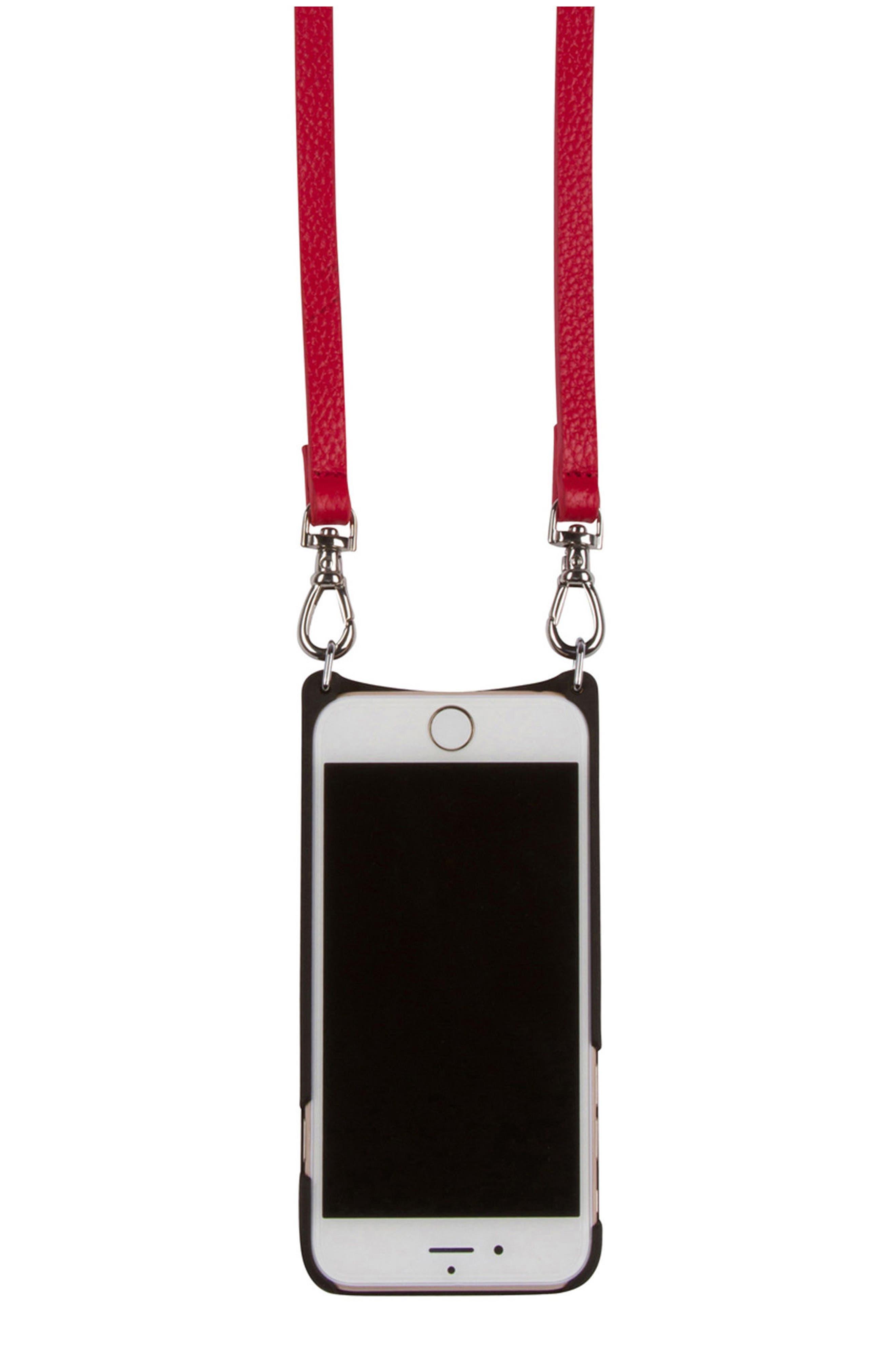 Alternate Image 4  - Bandolier Emma iPhone 6/7/8 & 6/7/8 Plus Crossbody Case