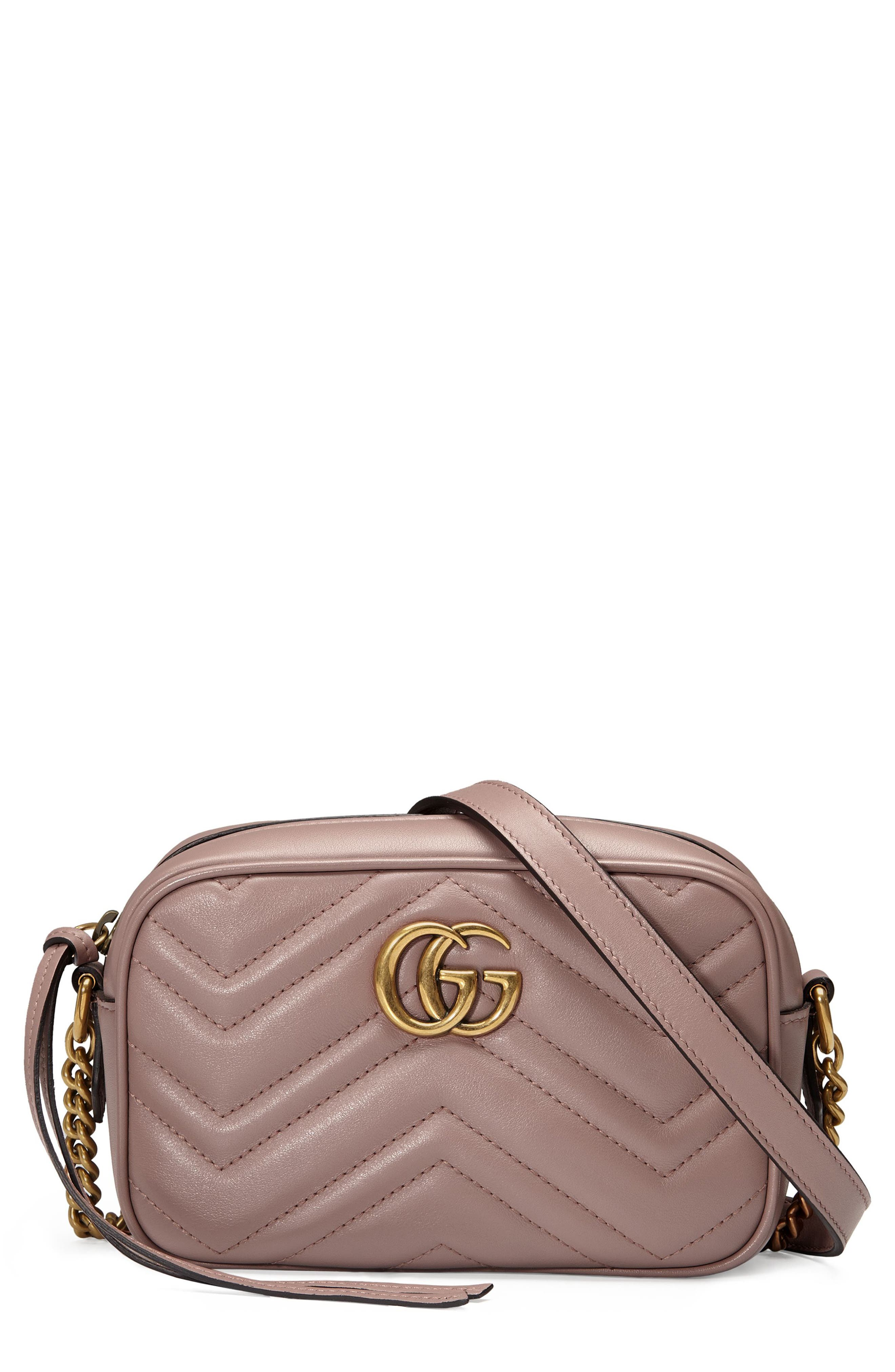 Alternate Image 1 Selected - Gucci GG Marmont 2.0 Matelassé Leather Shoulder Bag
