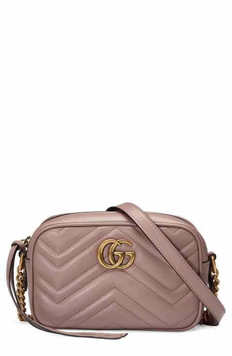 cc0935ba190a Gucci GG Marmont 2.0 Matelassé Leather Shoulder Bag