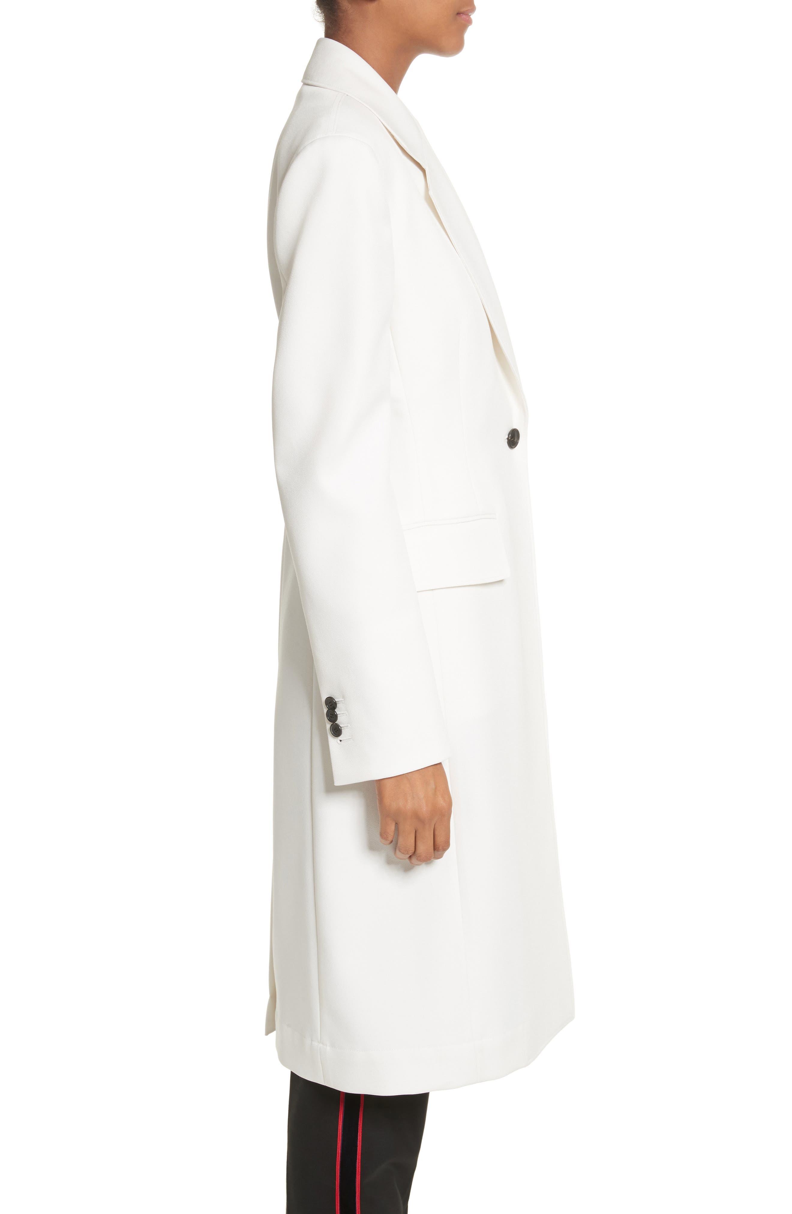 Alternate Image 4  - CALVIN KLEIN 205W39NYC Uniform Stripe Coat