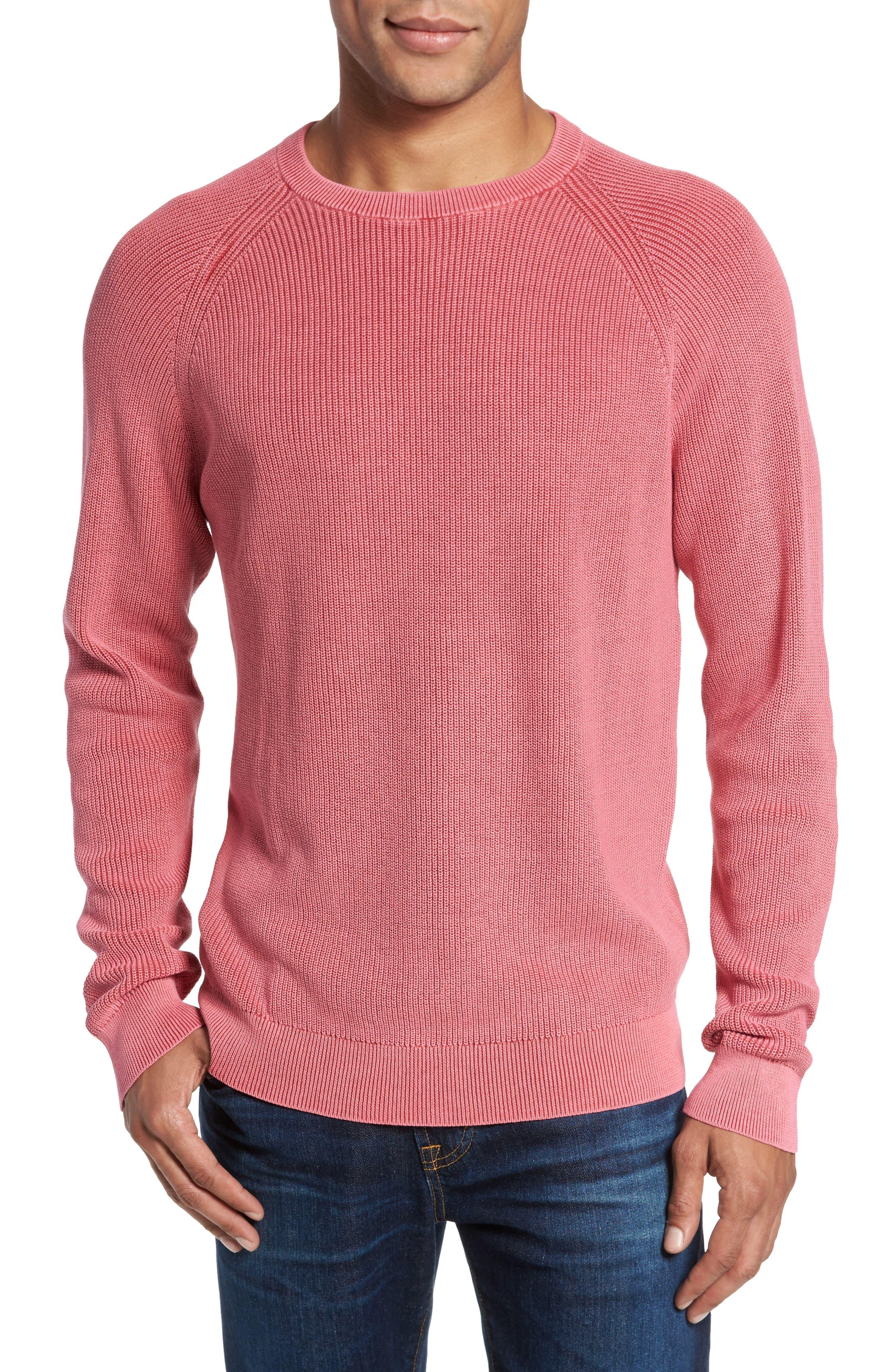 Main Image - Nordstrom Men's Shop Crewneck Sweater (Regular)