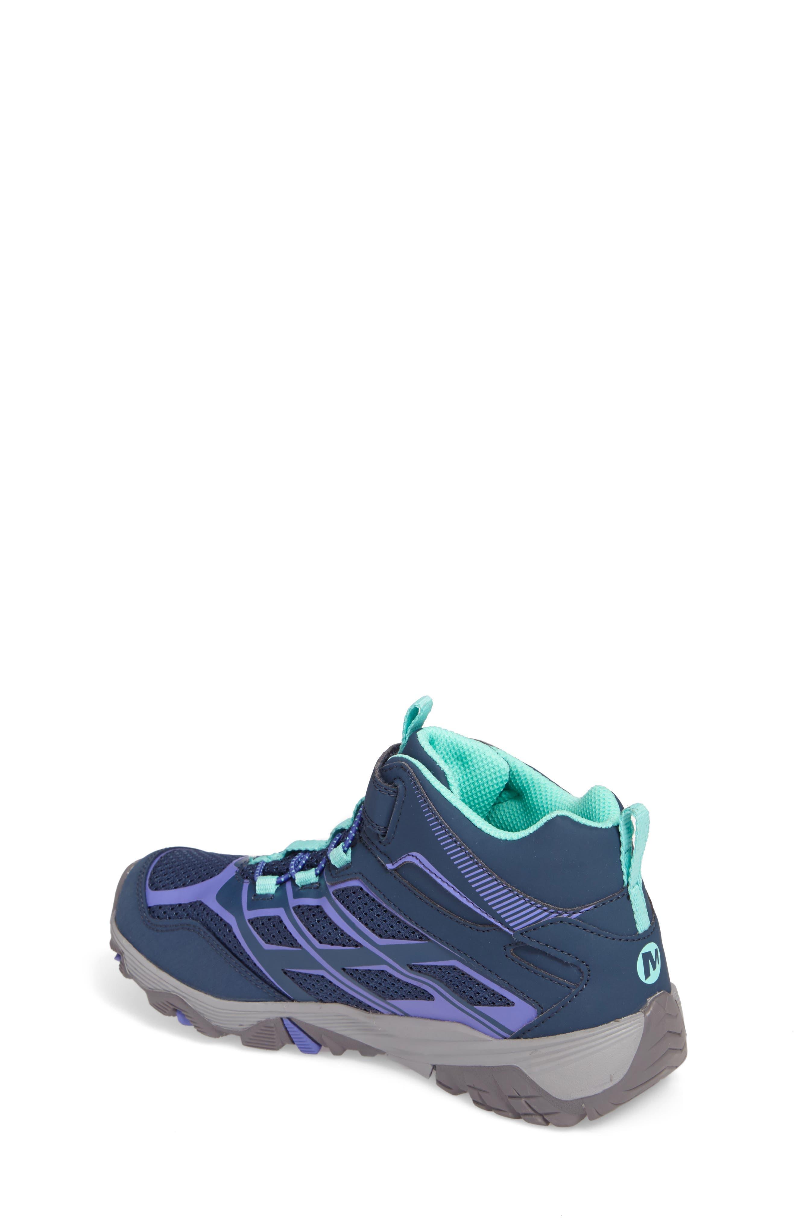 Alternate Image 2  - Merrell Moab FST Polar Mid Insulated Waterproof Sneaker Boot (Baby, Walker, Toddler, Little Kid & Big Kid)