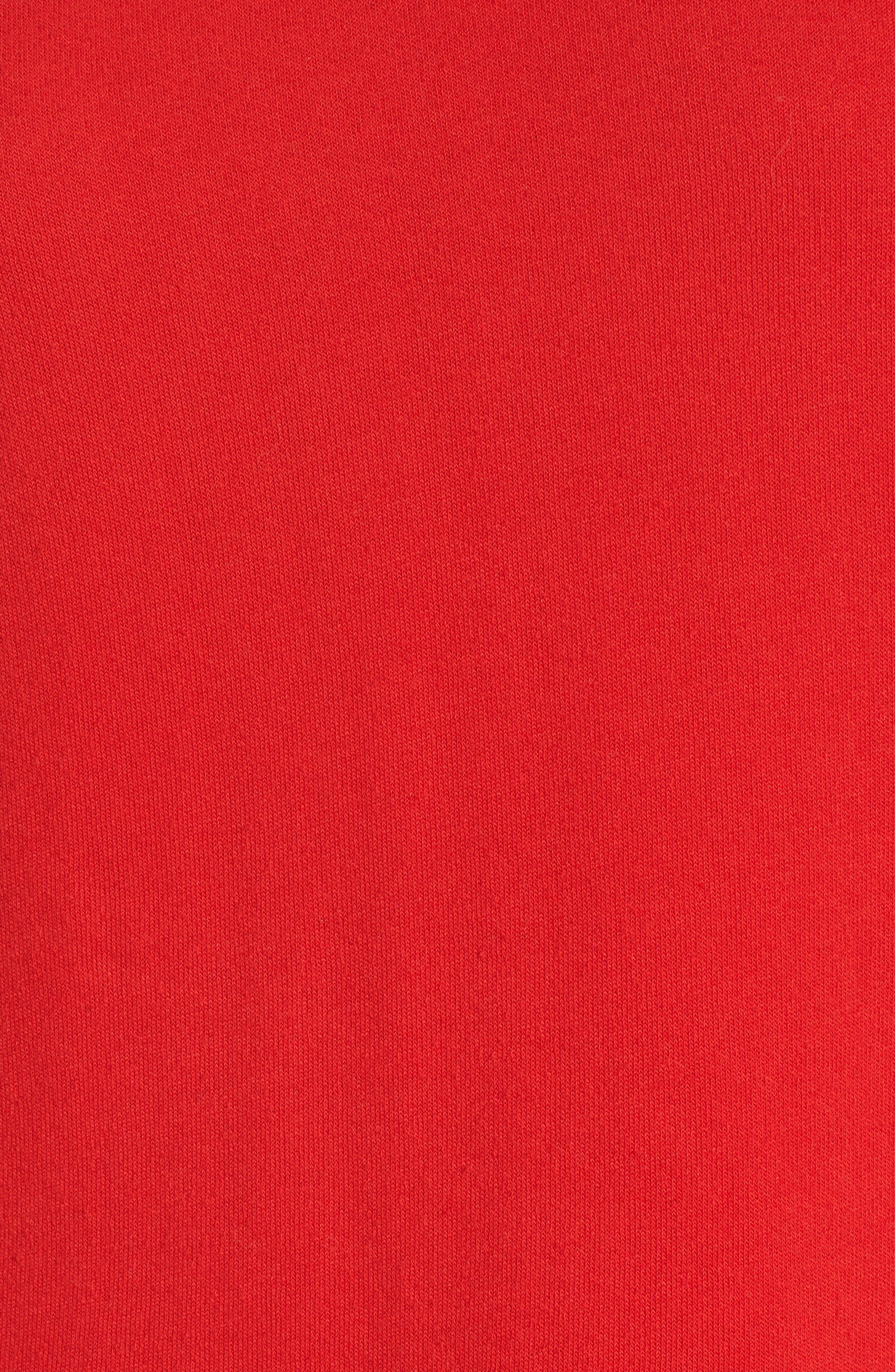 Hollywood Tipped Hoodie,                             Alternate thumbnail 5, color,                             Formula 1 Red
