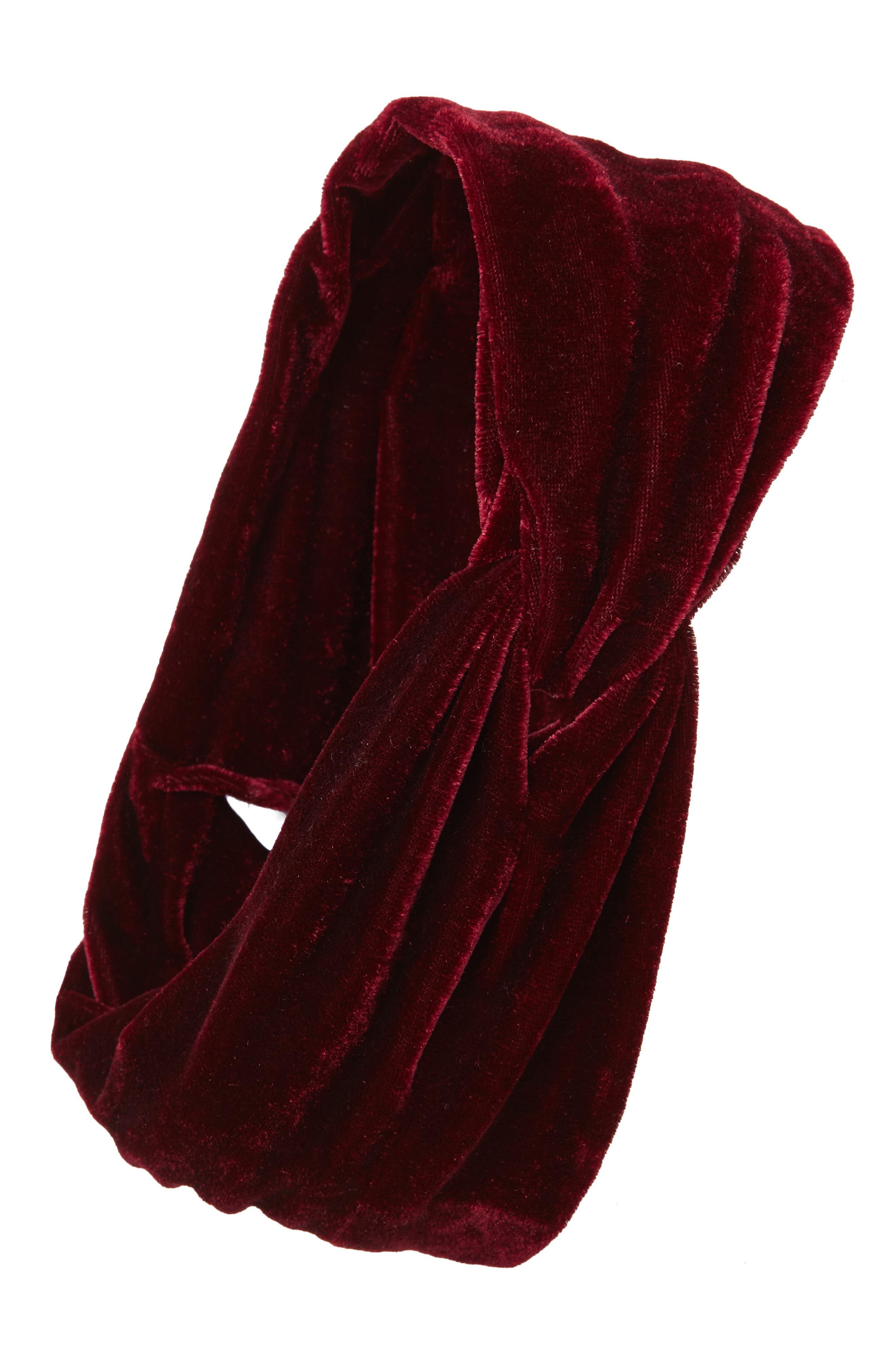 Sole Society Velvet Head Wrap
