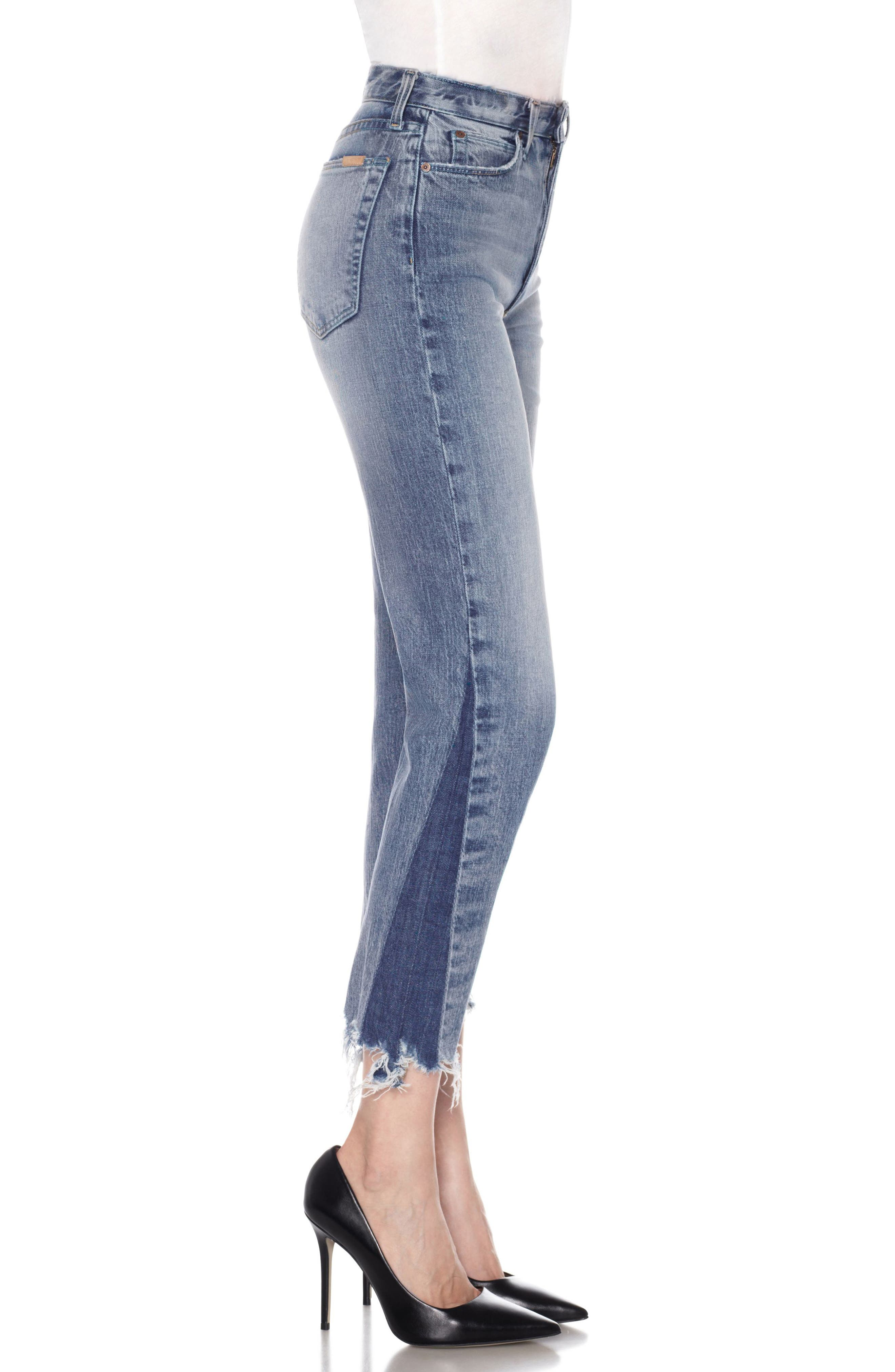 Alternate Image 4  - Joe's Smith Ankle Slim Boyfriend Jeans (Prairie)