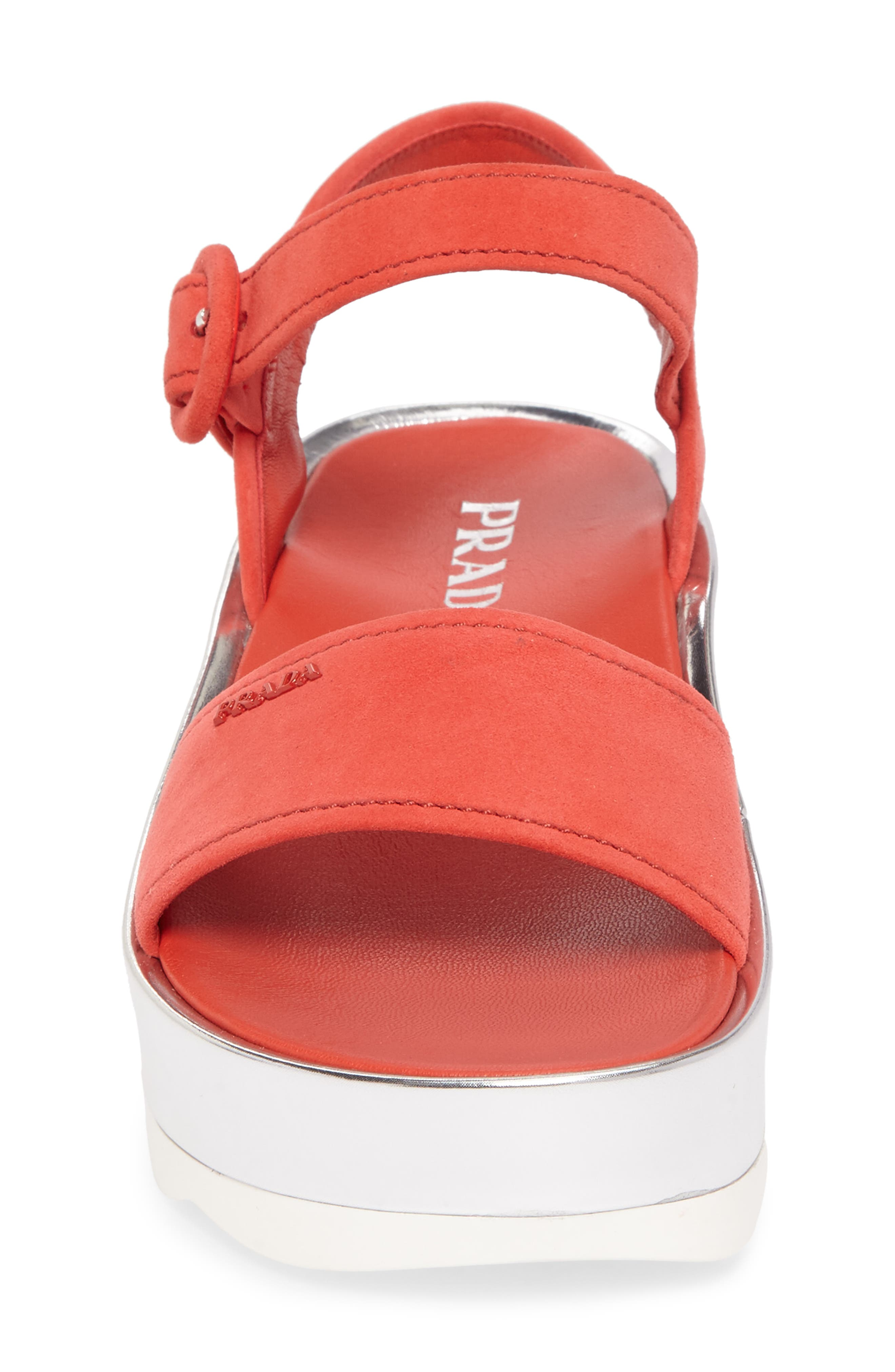 Alternate Image 4  - Prada Platform Sandal (Women)