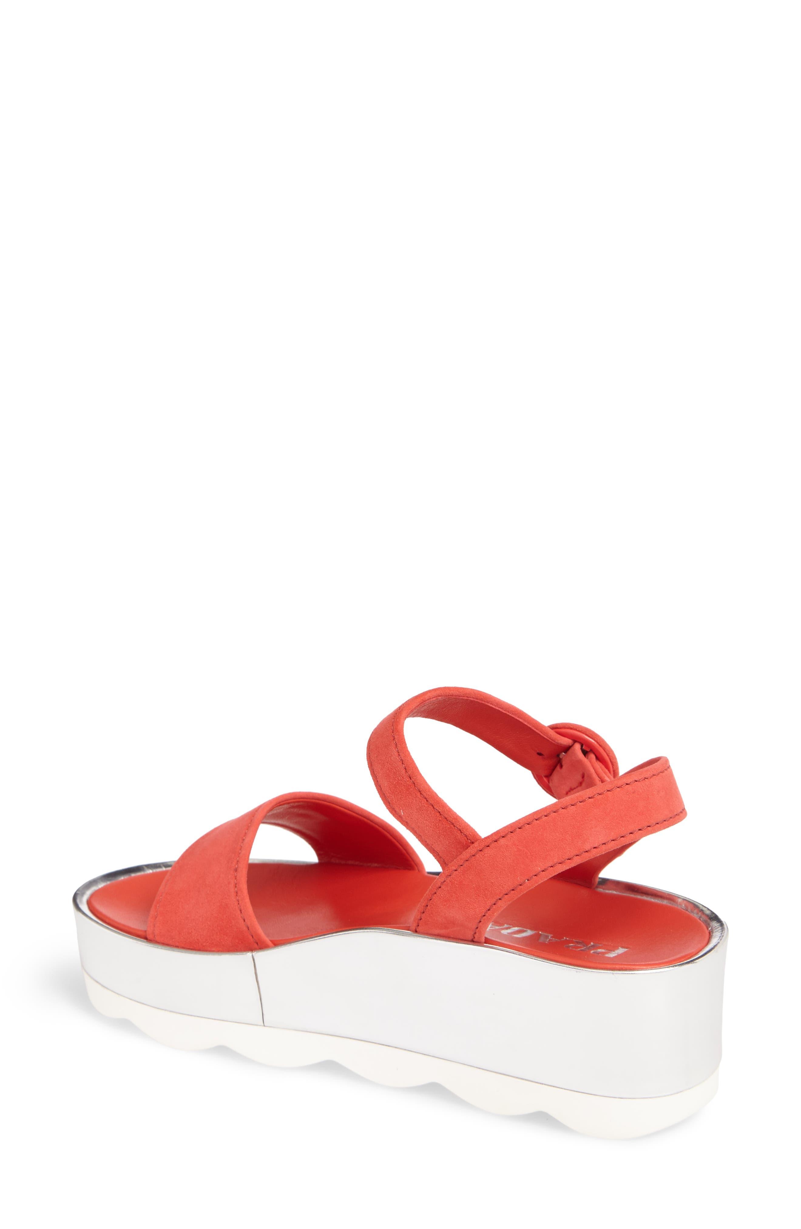 Alternate Image 2  - Prada Platform Sandal (Women)