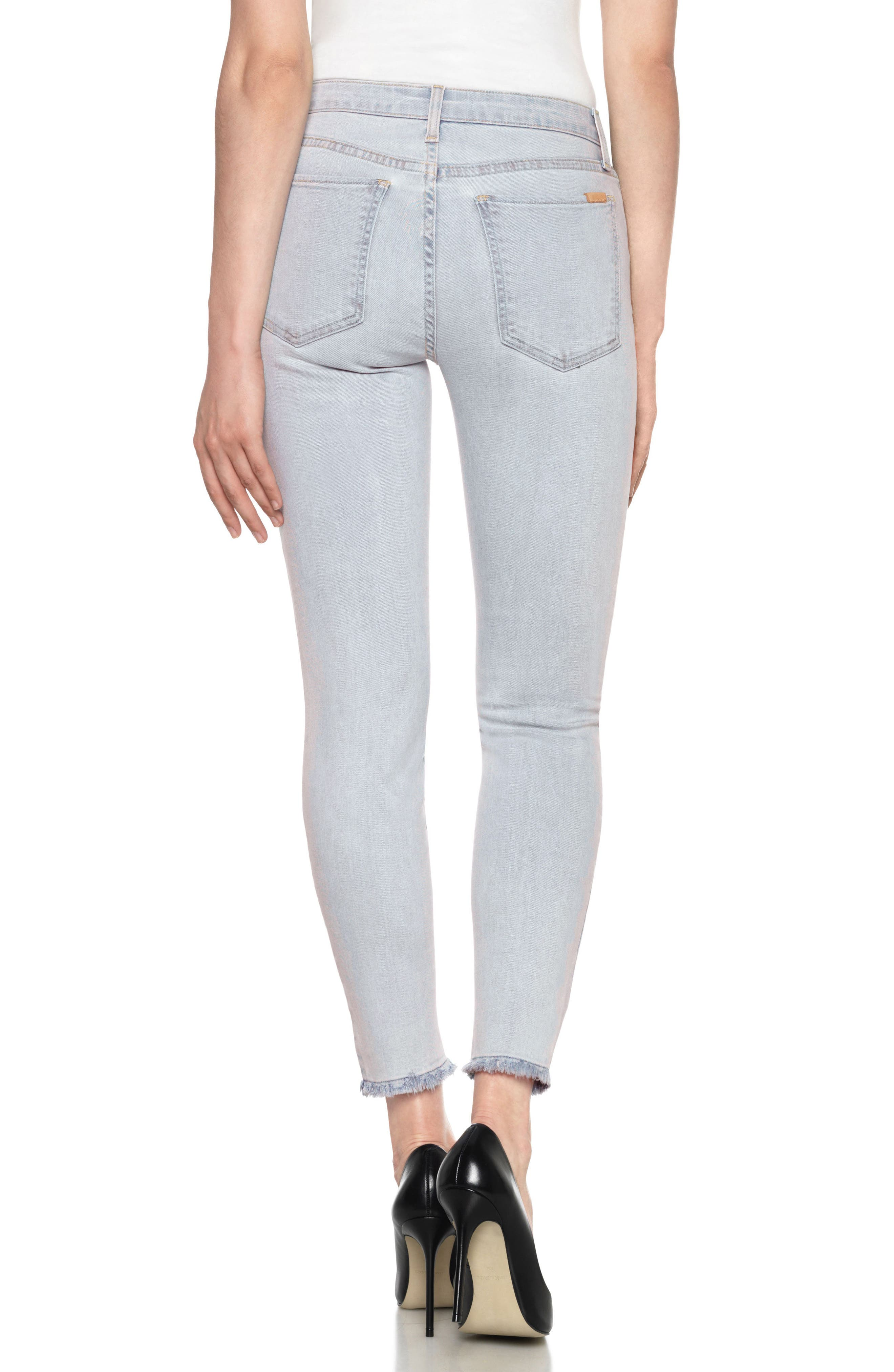 Alternate Image 2  - Joe's Flawless - Charlie High Waist Ankle Skinny Jeans (Amada)