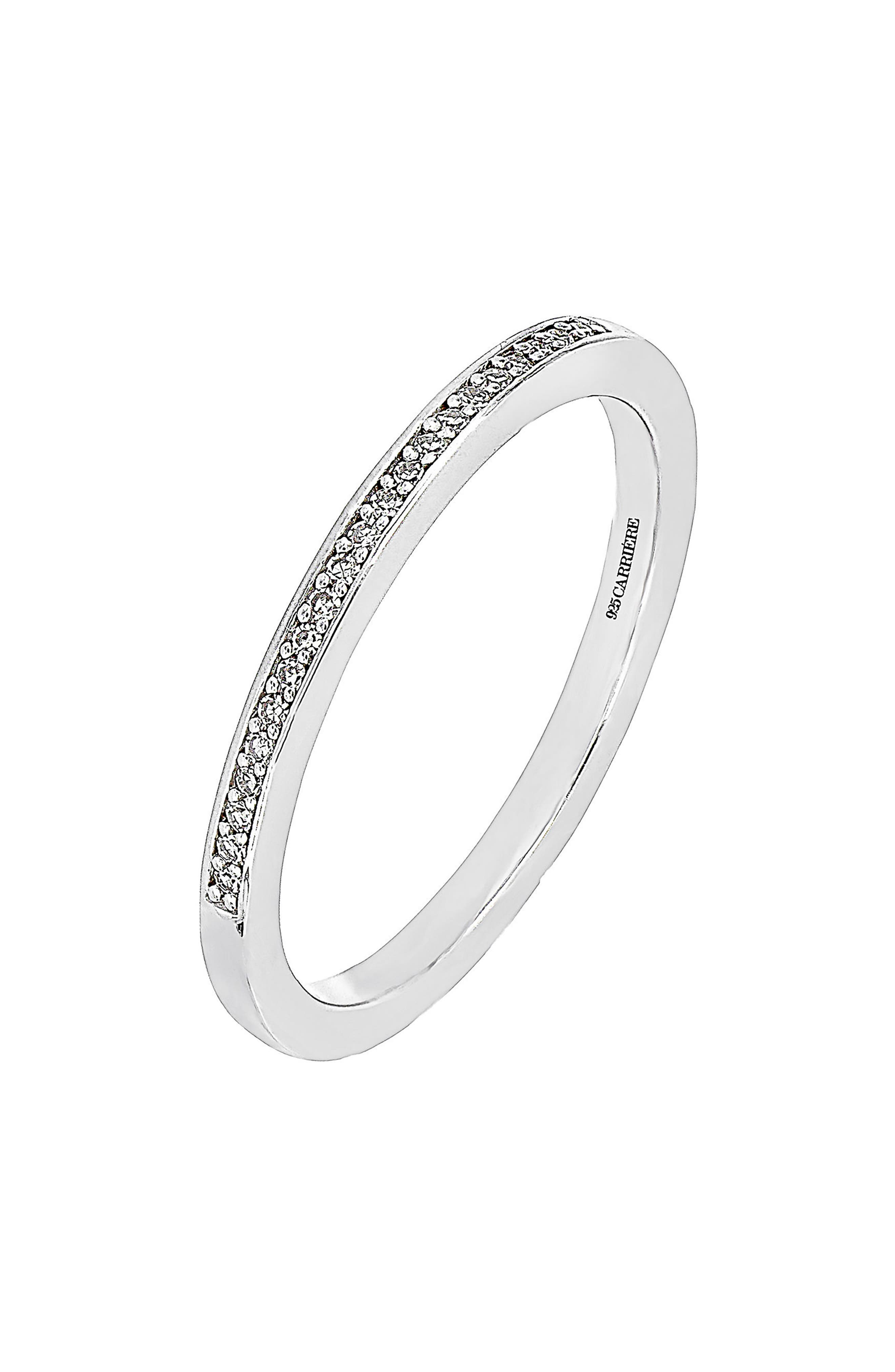 Main Image - Carrière Diamond Stacking Ring (Nordstrom Exclusive)