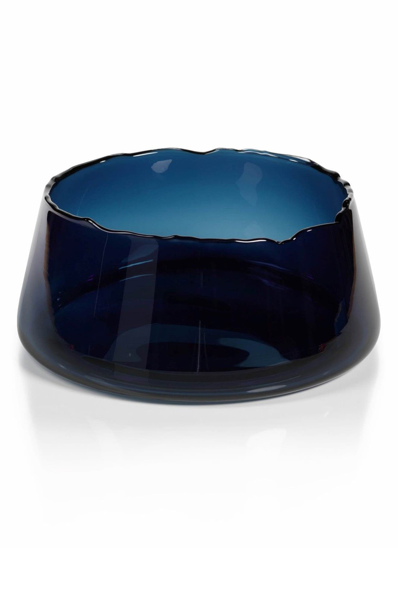 Manarola Decorative Glass Bowl,                         Main,                         color, Blue
