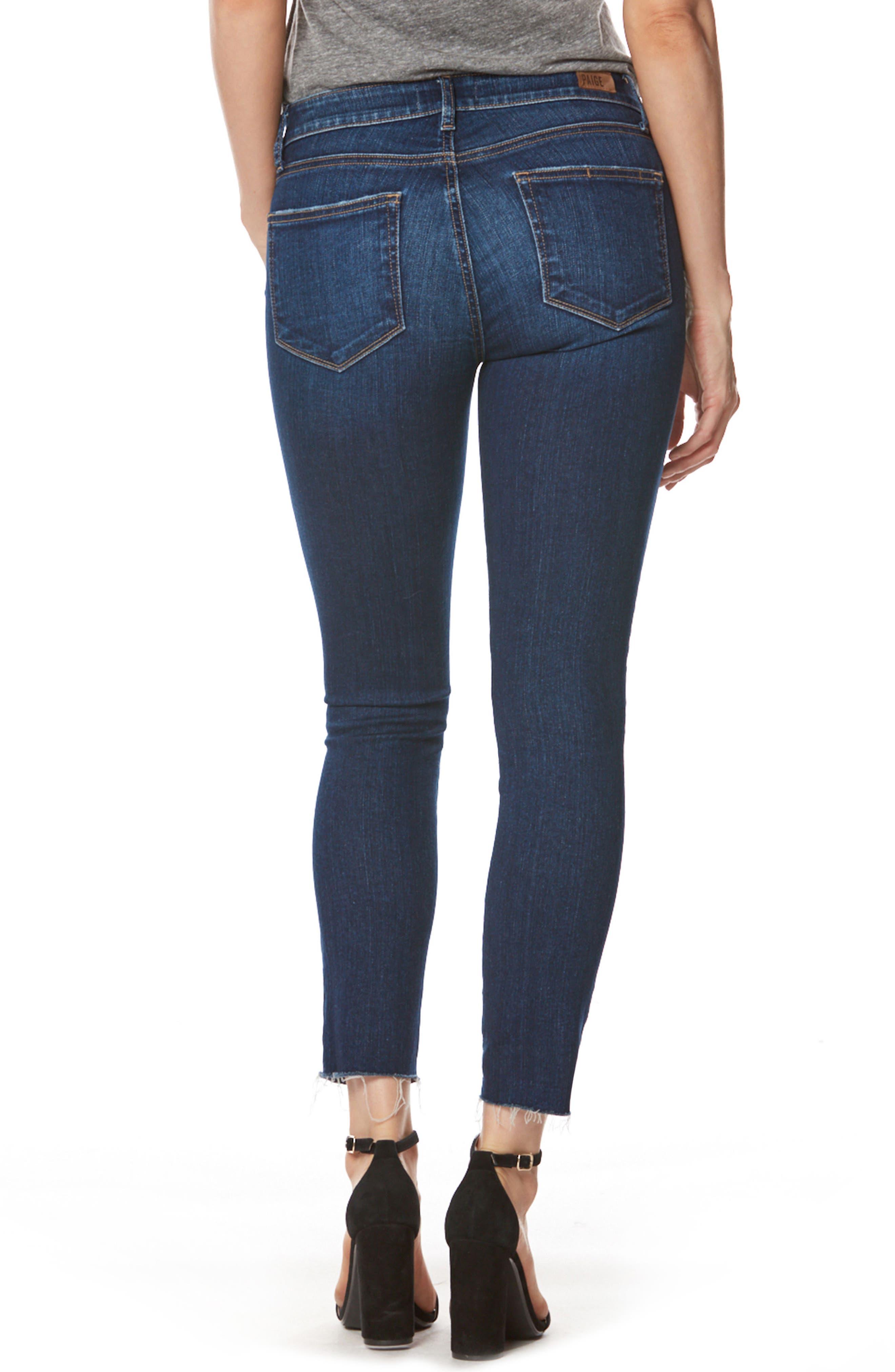 Skyline Ankle Skinny Jeans,                             Alternate thumbnail 2, color,                             Anika