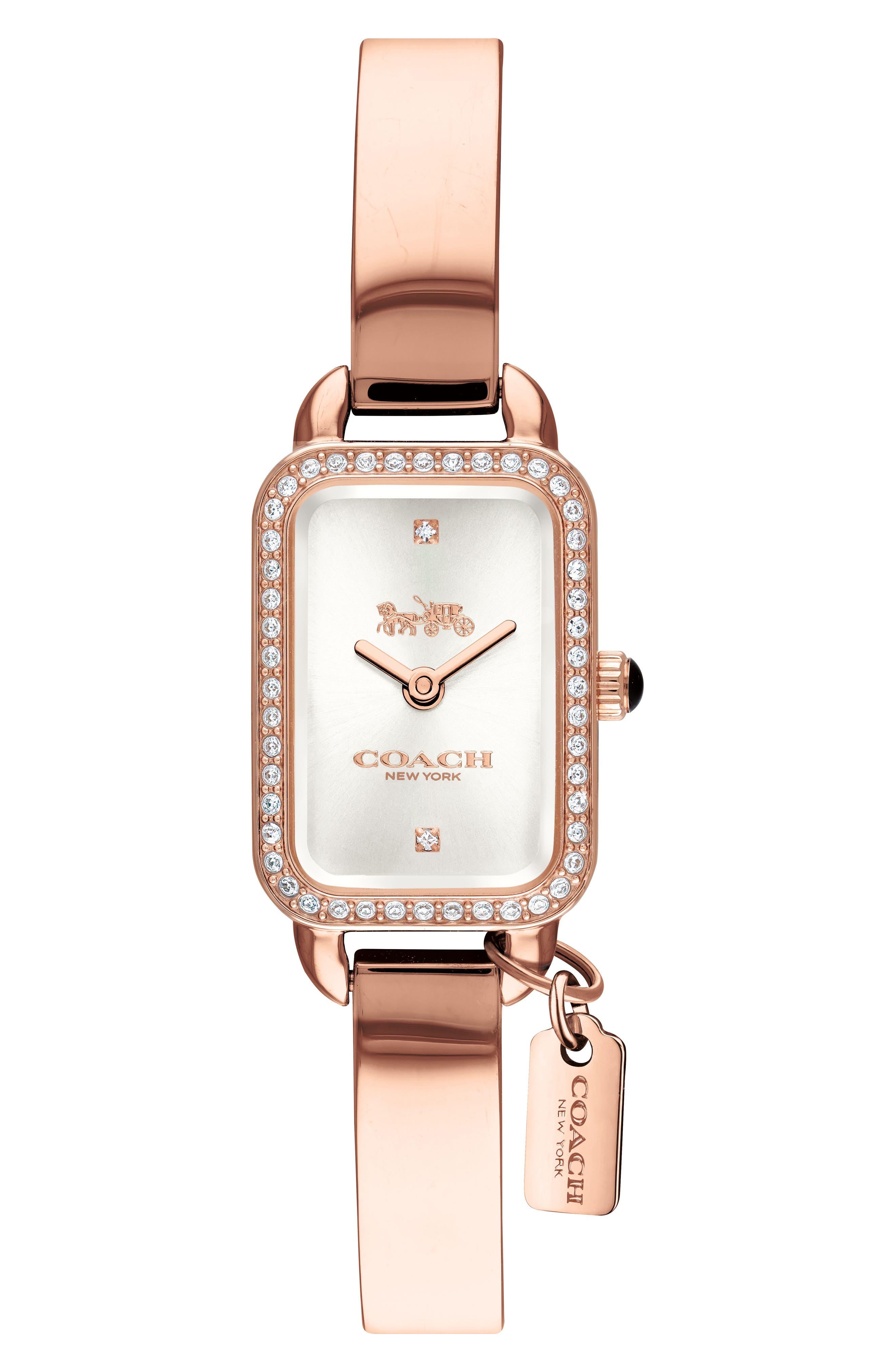 Ludlow Bracelet Watch, 17mm,                             Main thumbnail 1, color,                             Rose Gold