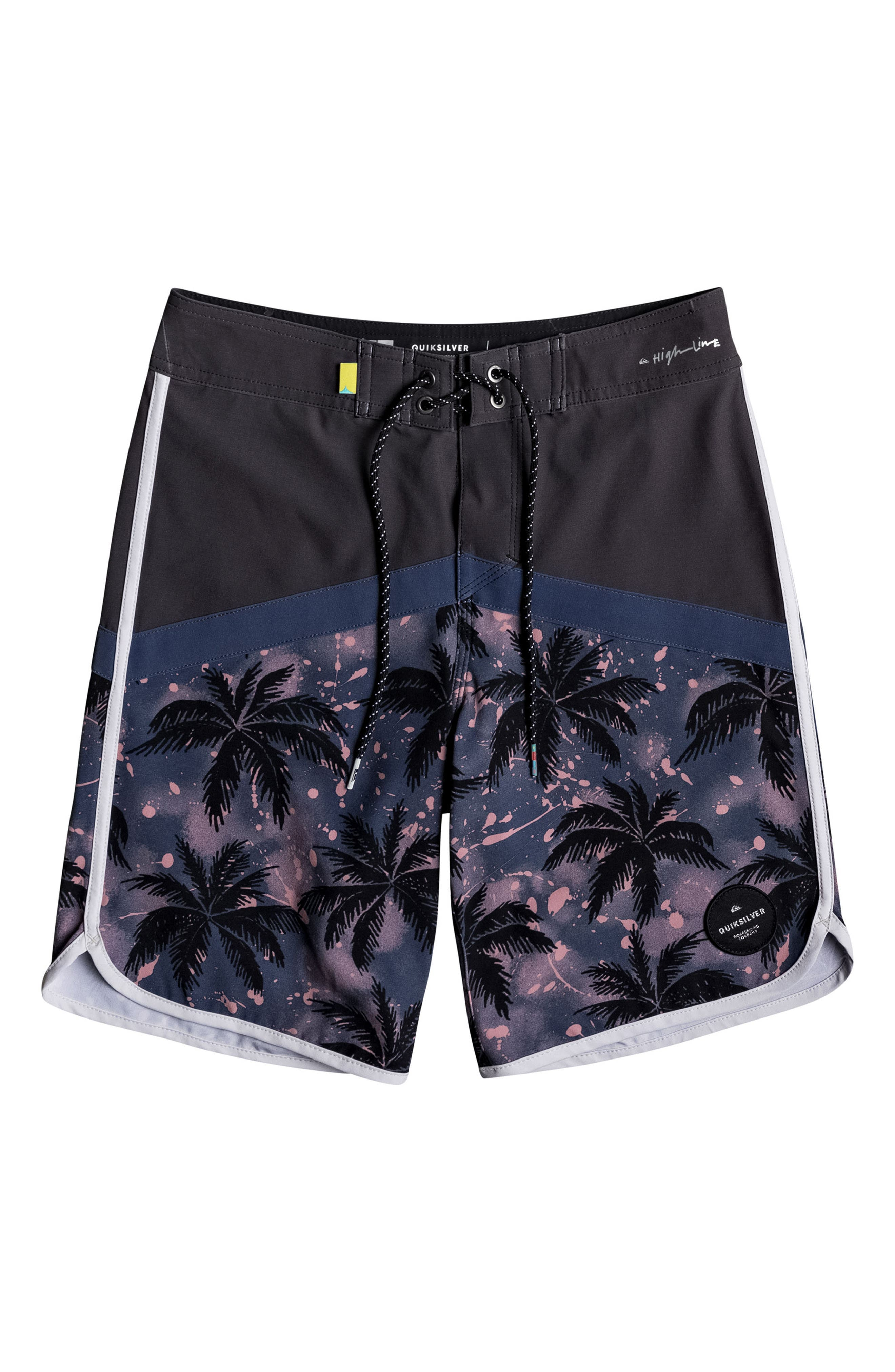 Alternate Image 1 Selected - Quiksilver Crypt Scallop Board Shorts (Big Boys)
