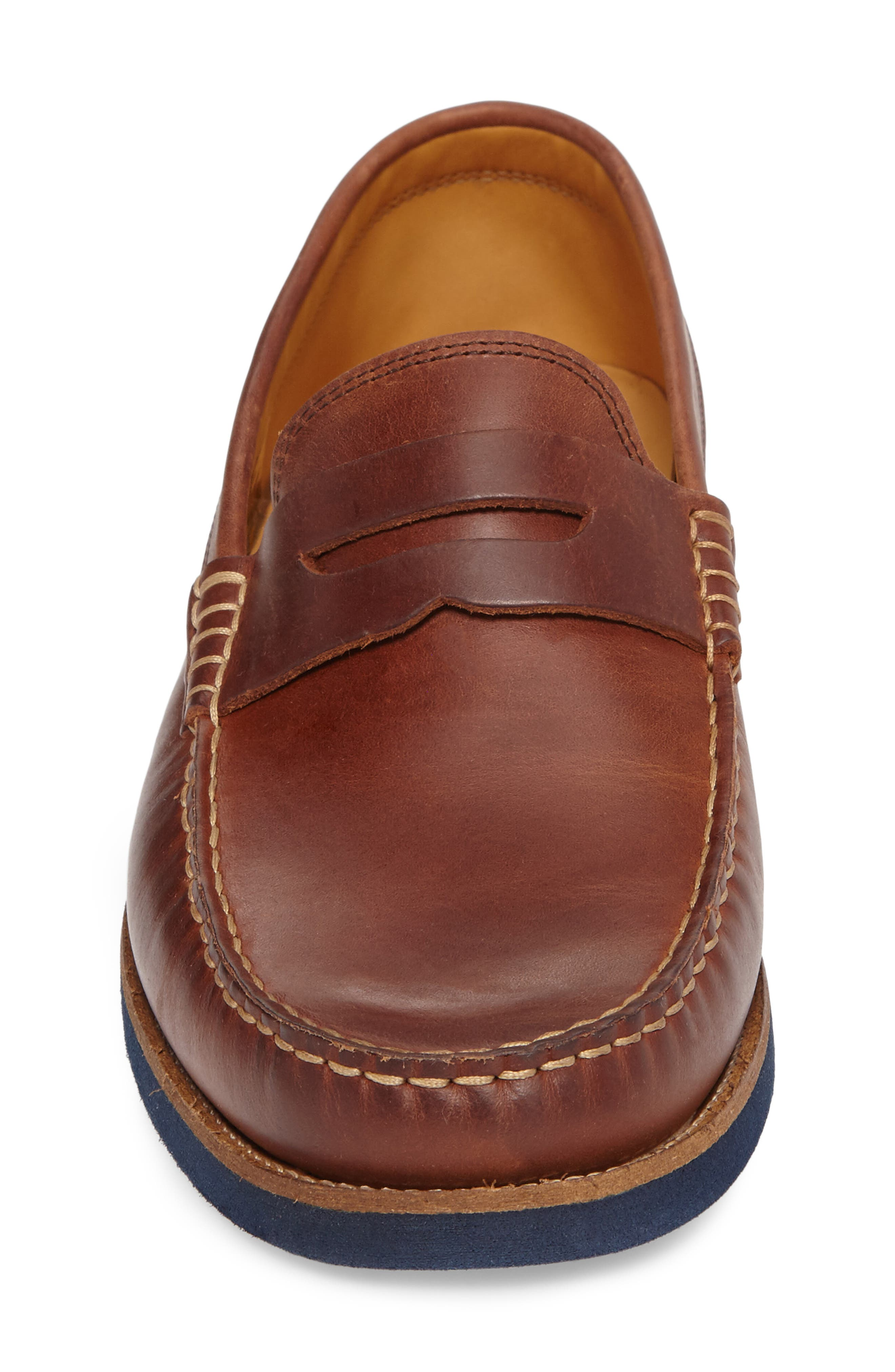 Lincolns Penny Loafer,                             Alternate thumbnail 4, color,                             Light Brown