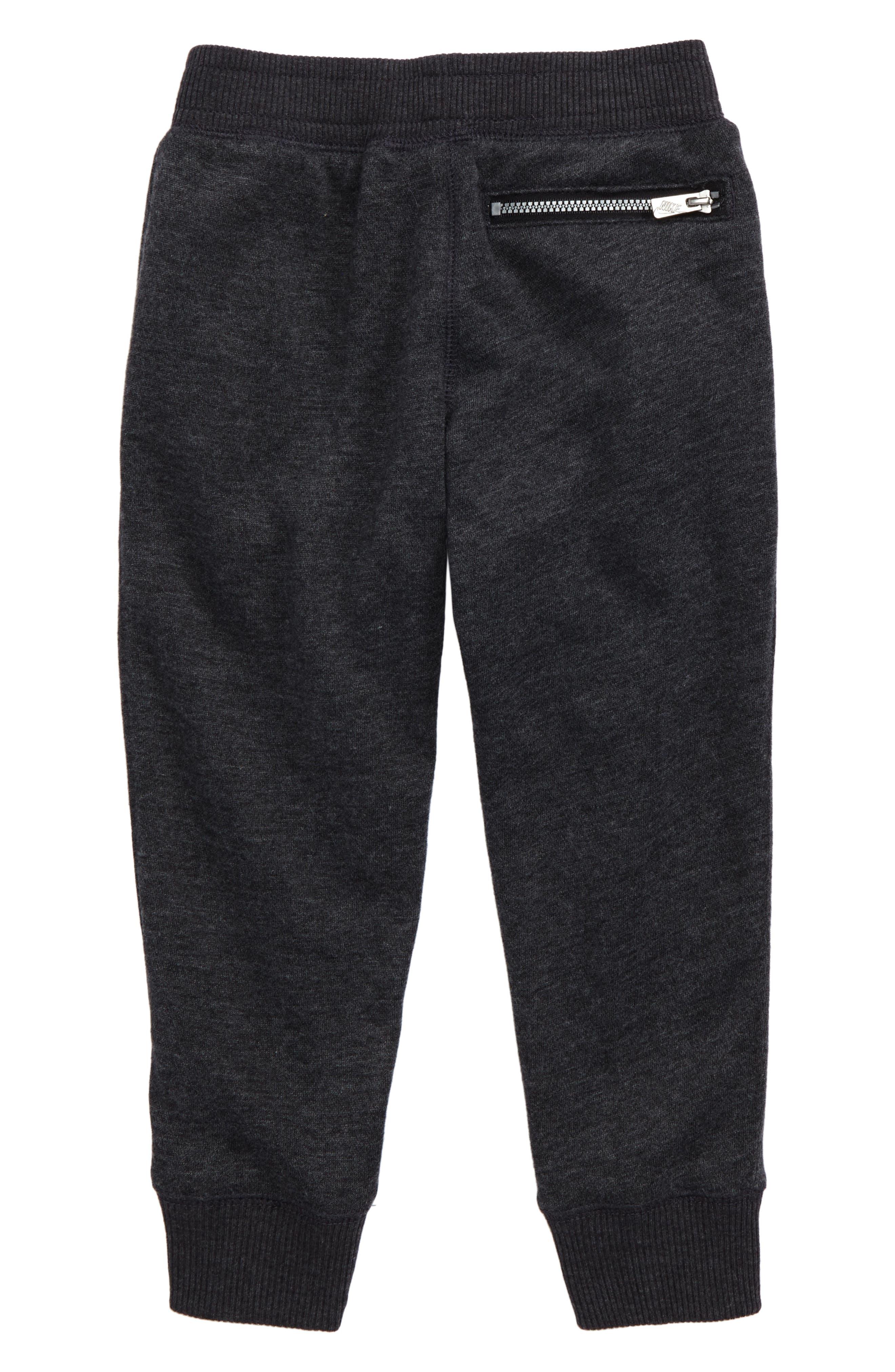 Legacy Jogger Pants,                             Alternate thumbnail 2, color,                             Black Heather