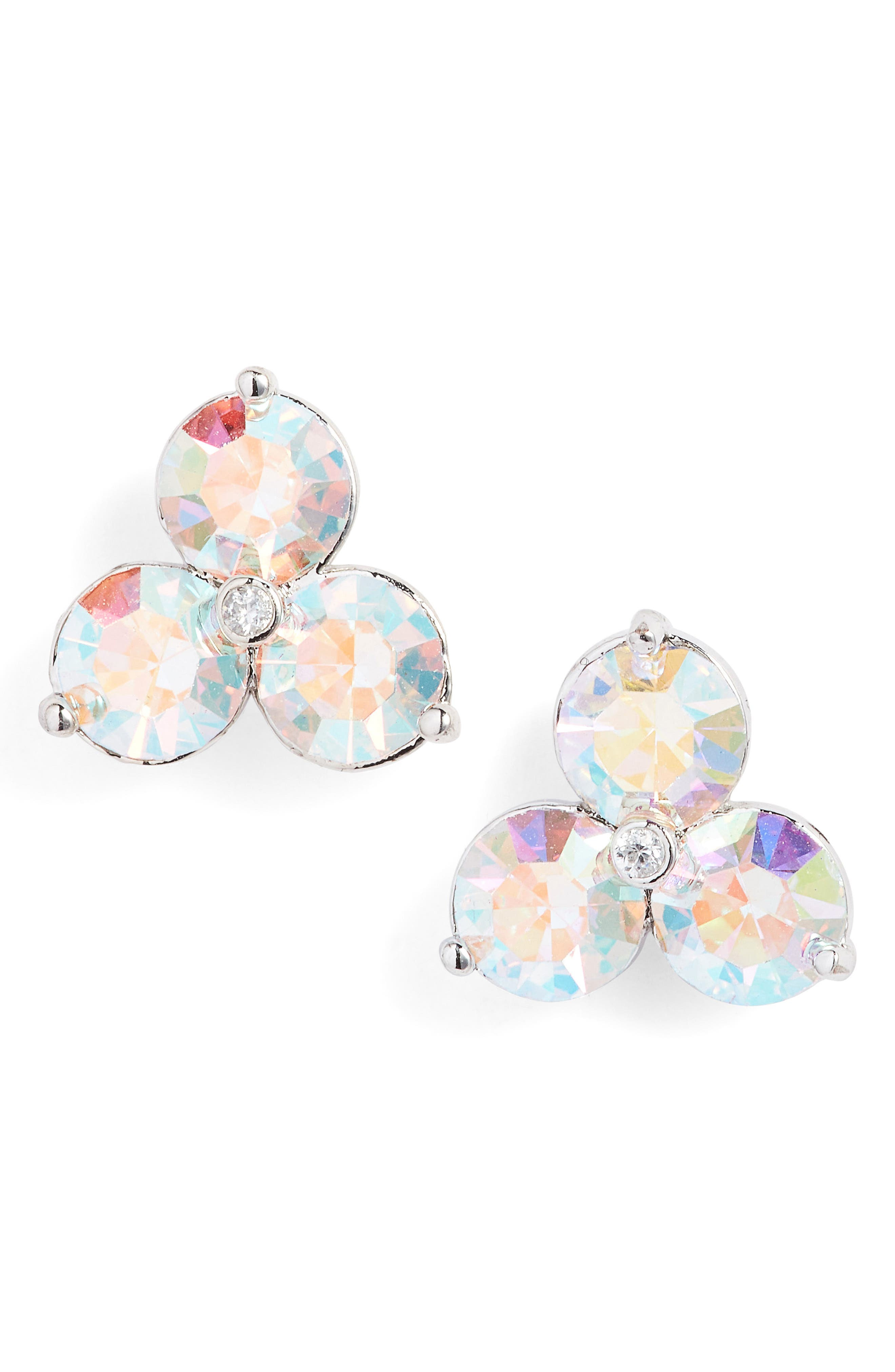 kate spade new york flying colors trio stud earrings