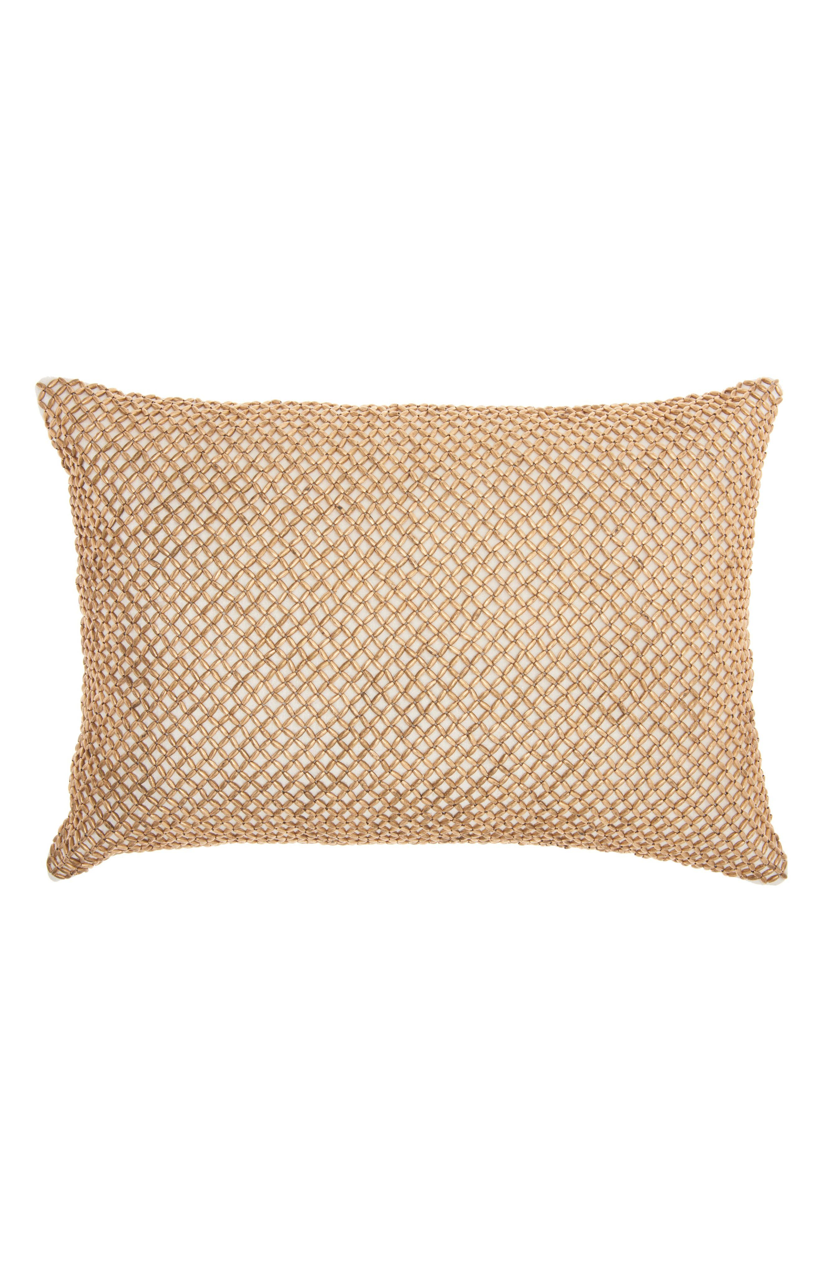 Main Image - Mina Victory Cobble Jewel Accent Pillow