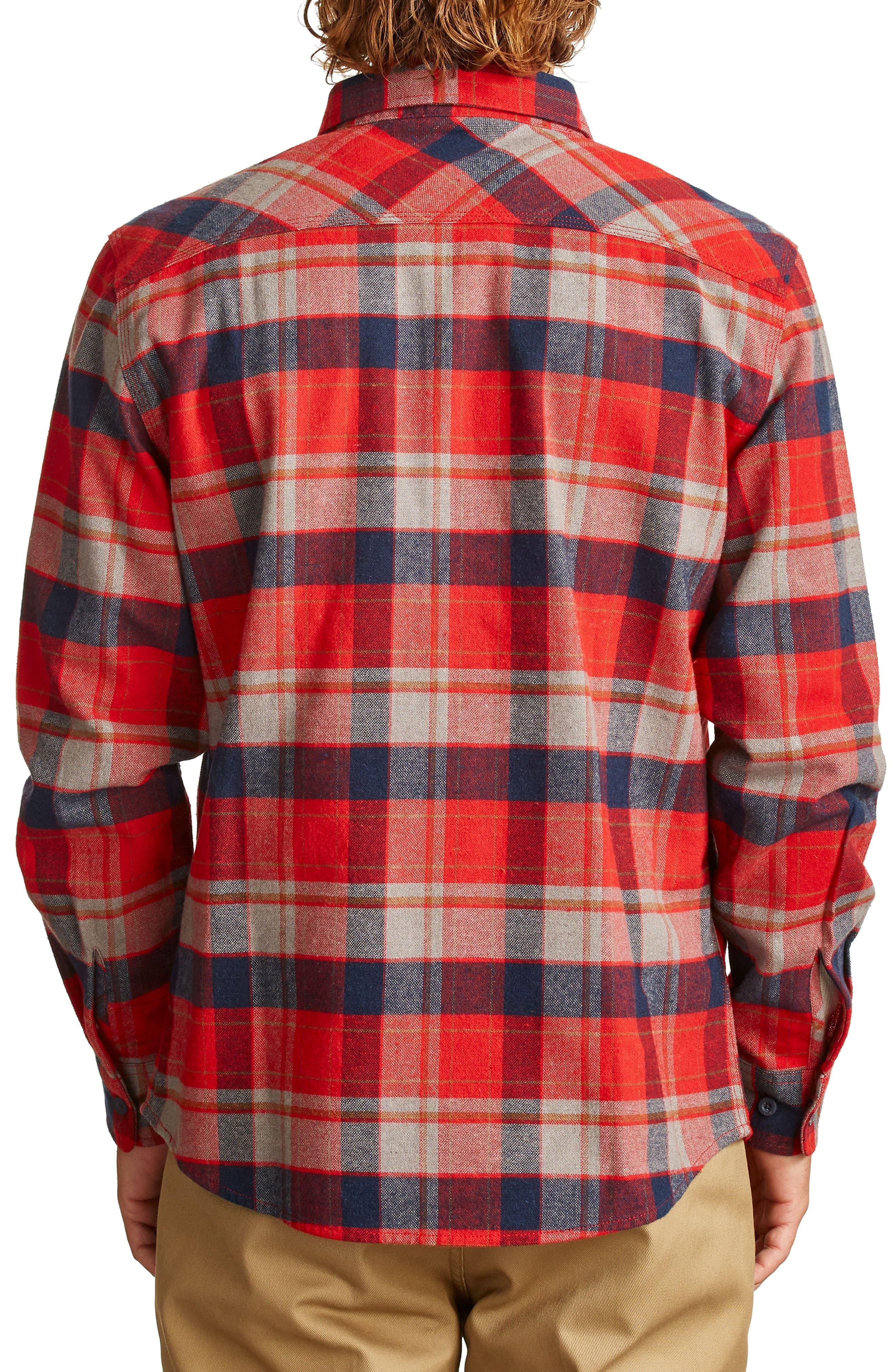 Alternate Image 2  - Brixton Bowery Flannel Shirt