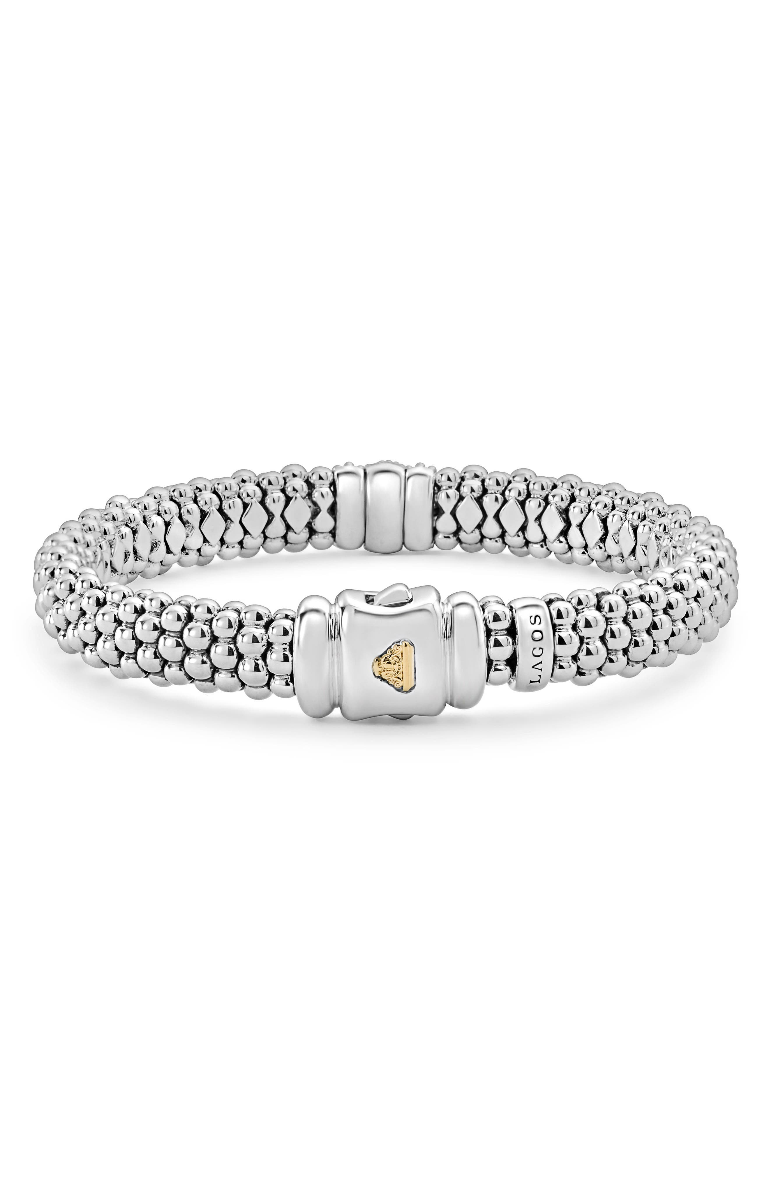 Luxe Pavé Diamond 9mm Bracelet,                             Alternate thumbnail 2, color,                             Diamond