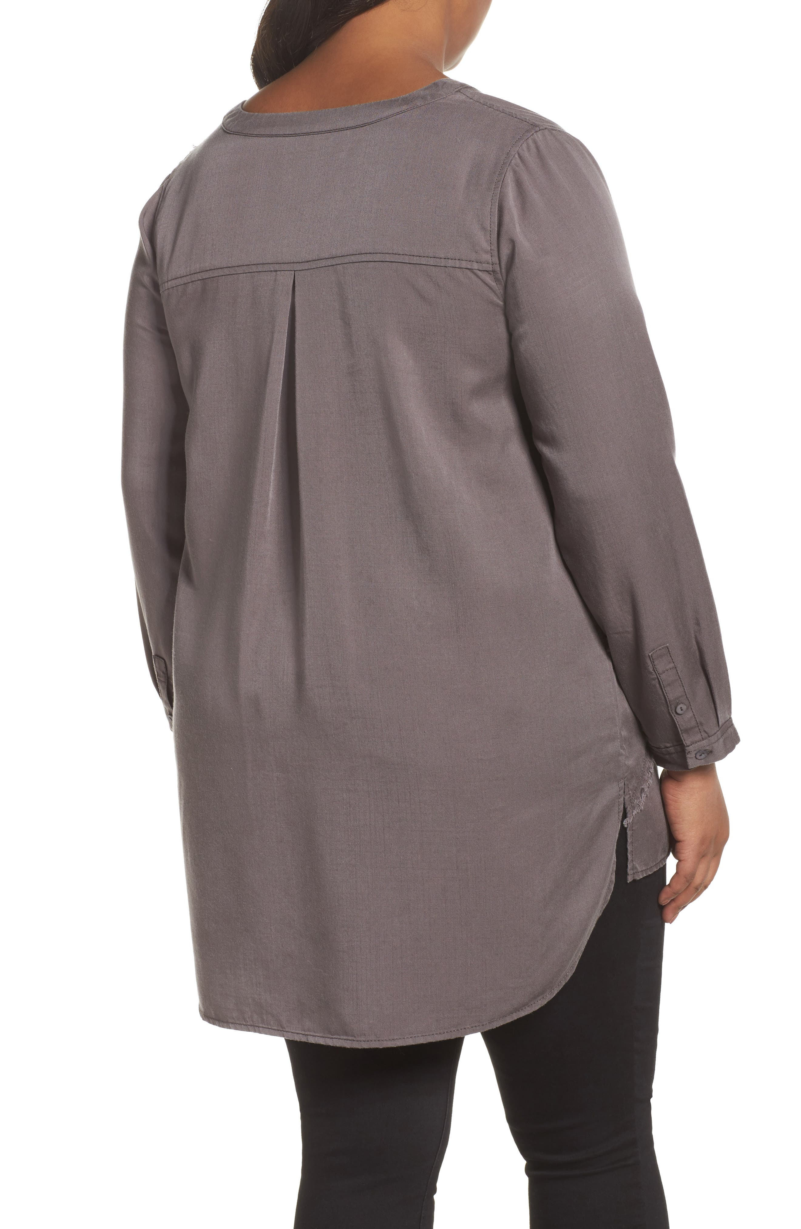 Alternate Image 2  - NIC+ZOE Tranquil Tunic Top (Plus Size)