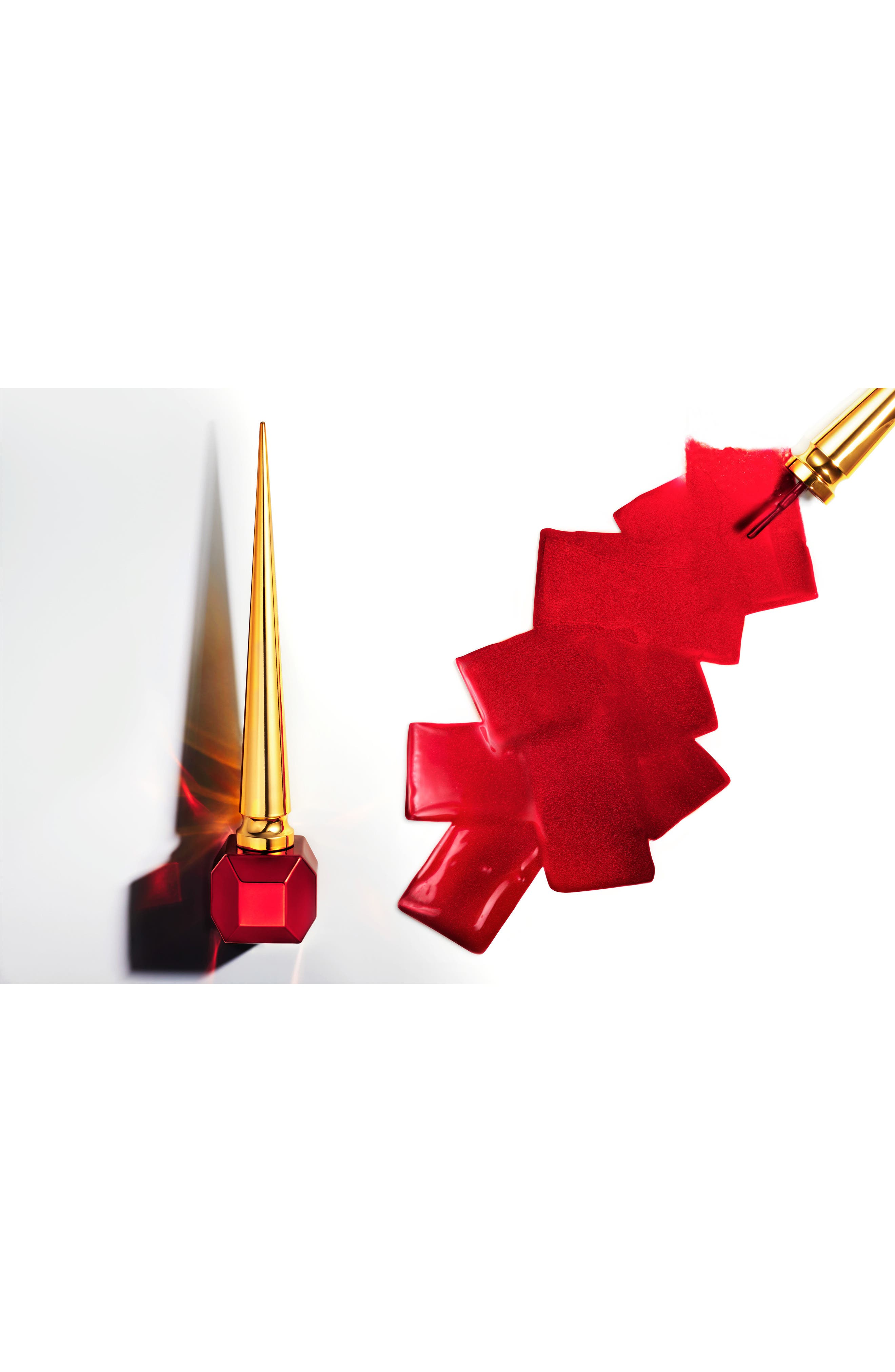 Alternate Image 4  - Christian Louboutin Rouge Louboutin Metalissime Nail Colour (Limited Edition)