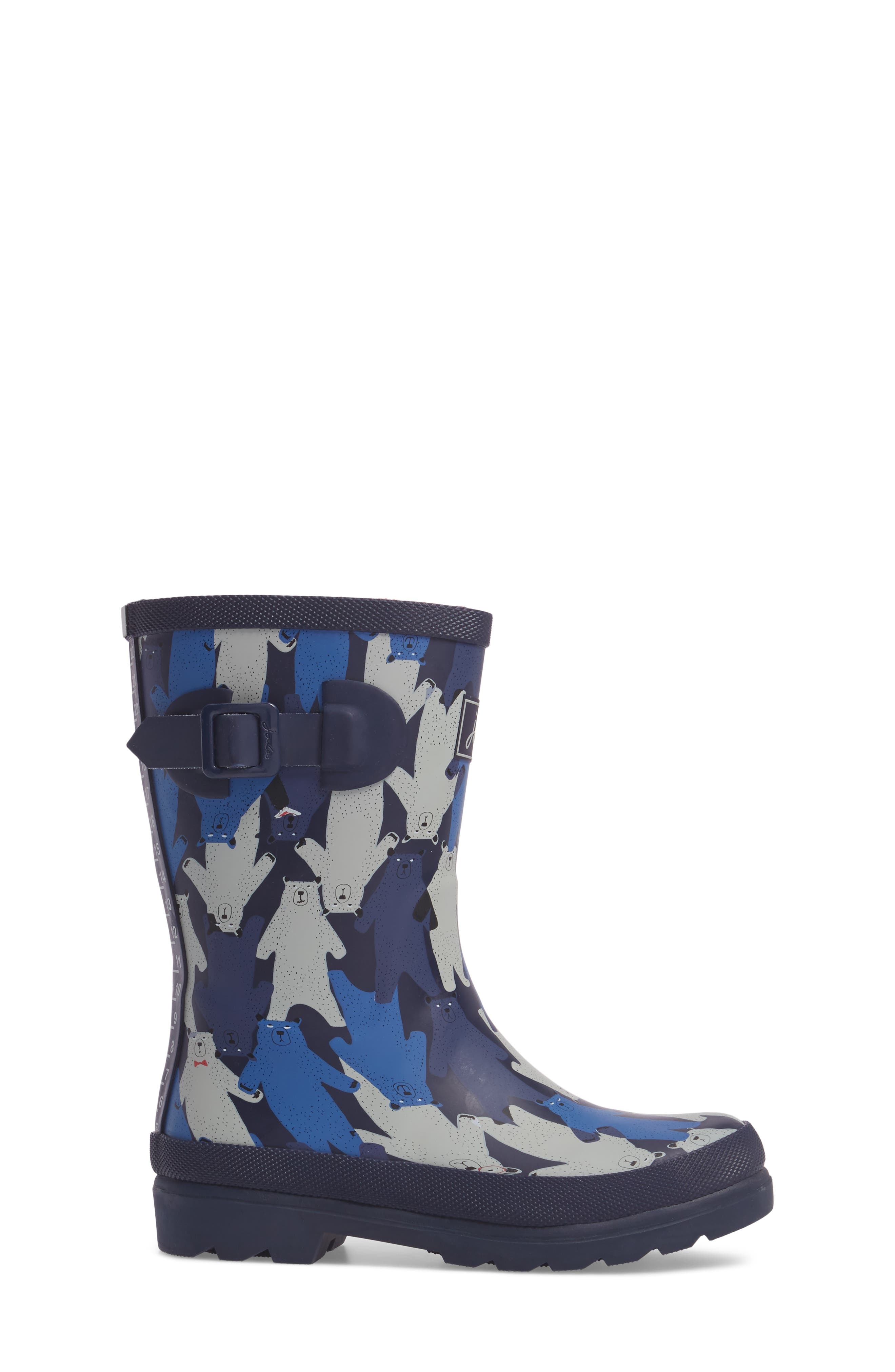 Alternate Image 3  - Joules Printed Waterproof Rain Boot (Toddler, Little Kid & Big Kid)