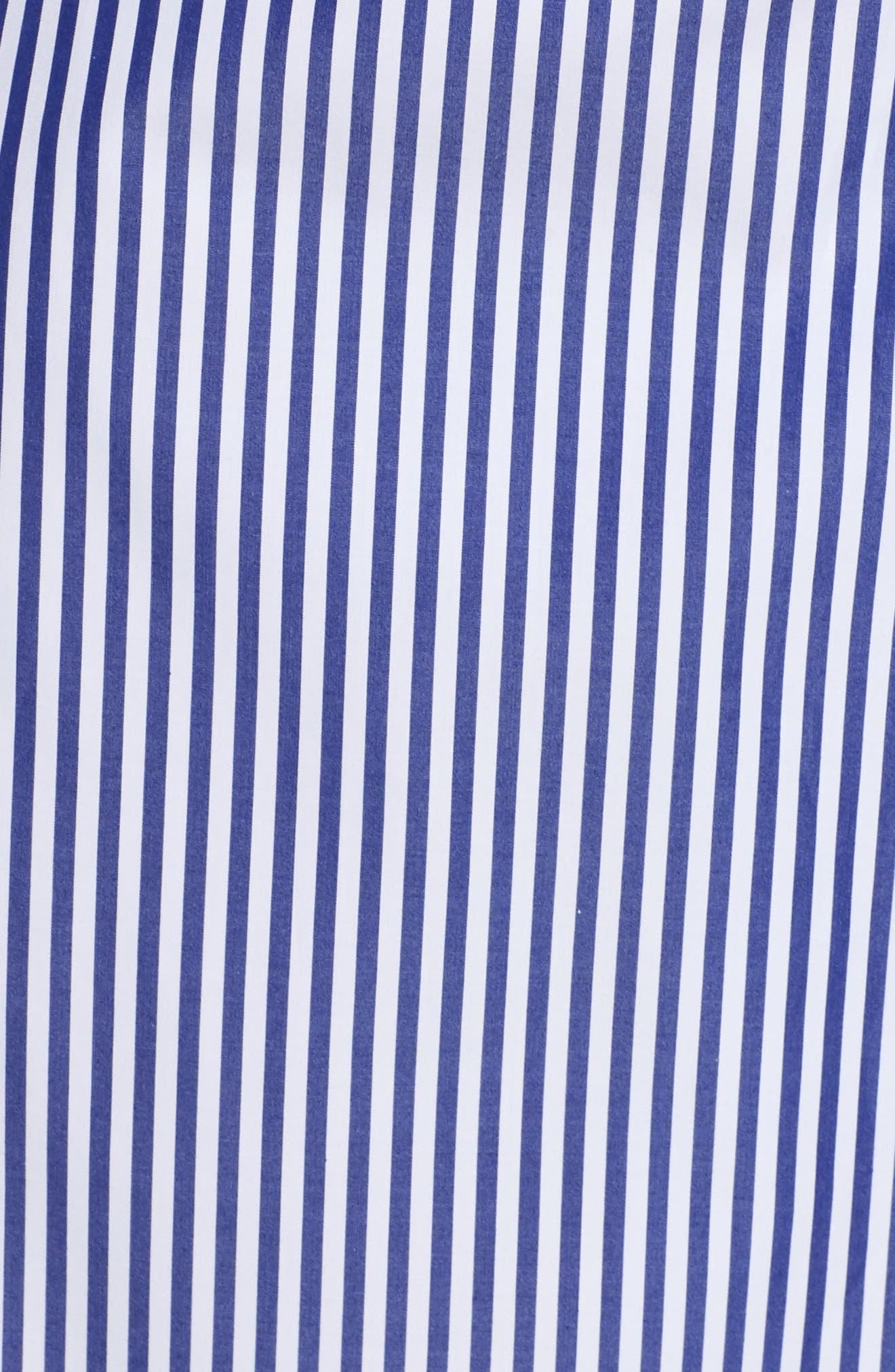 Alternate Image 5  - Pour Les Femmes Stripe Robe