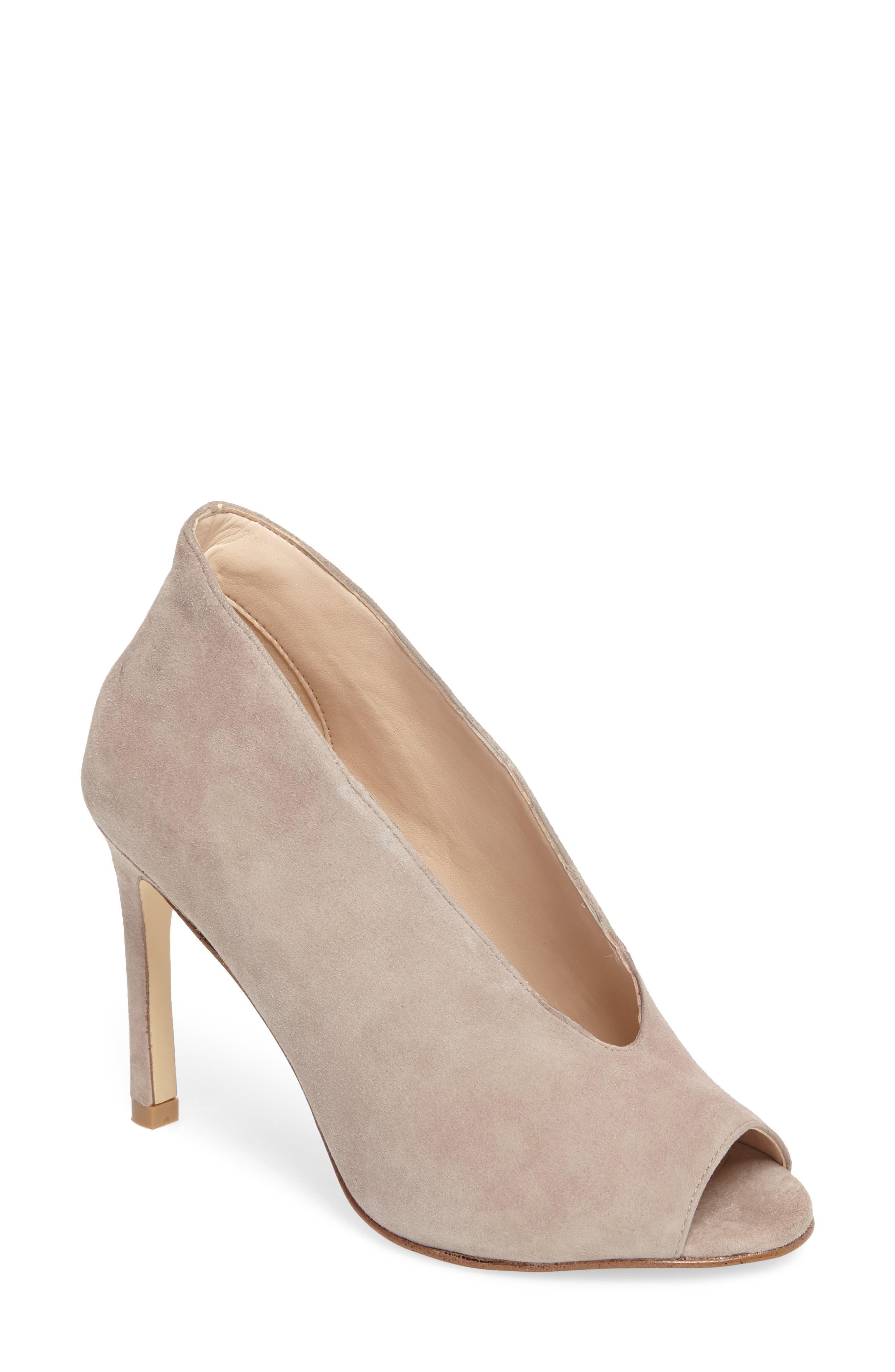 Alternate Image 1 Selected - Pelle Moda Elvia Peep Toe Pump (Women)