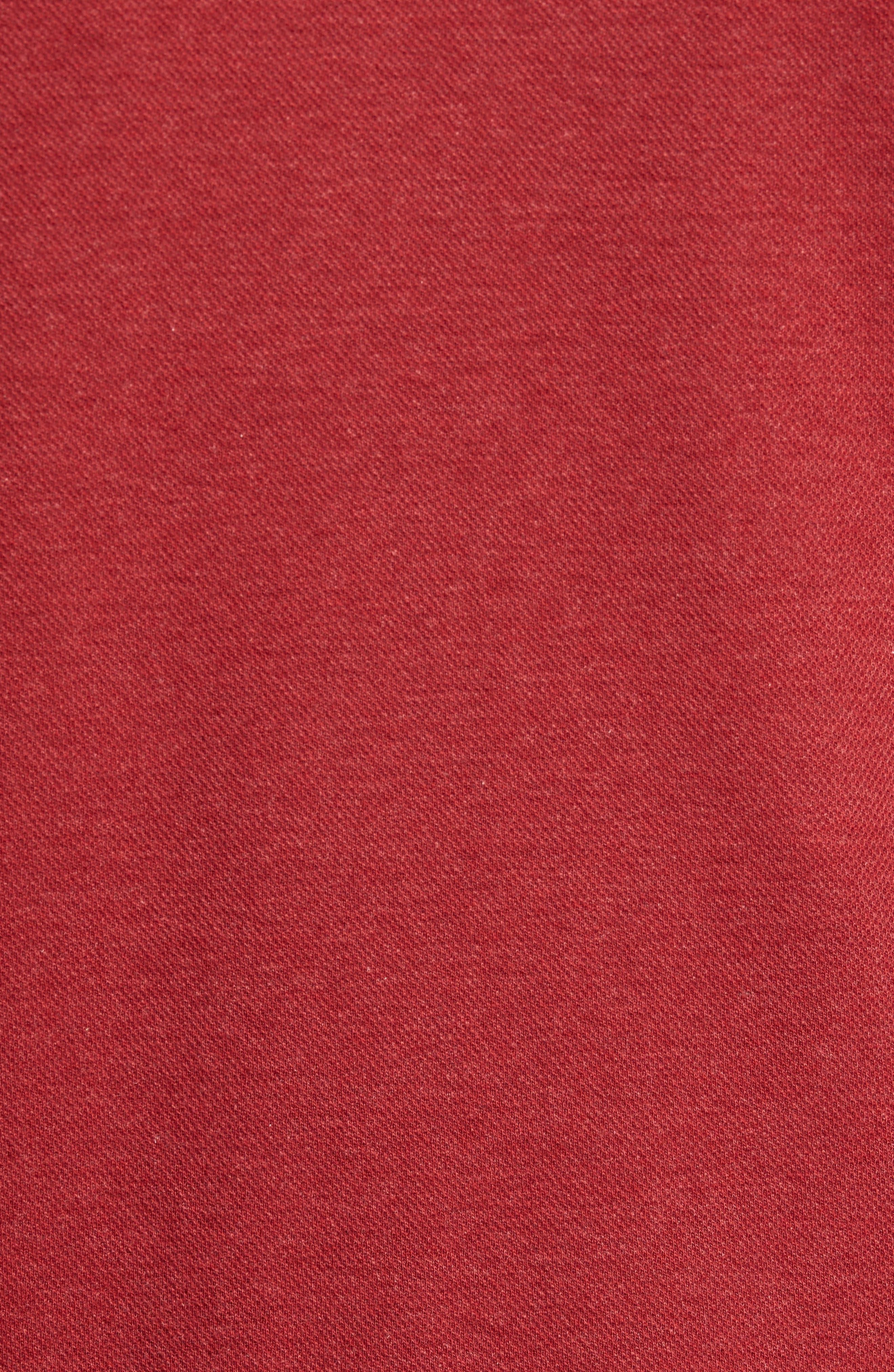 Alternate Image 5  - David Donahue Mélange Quarter Zip Pullover