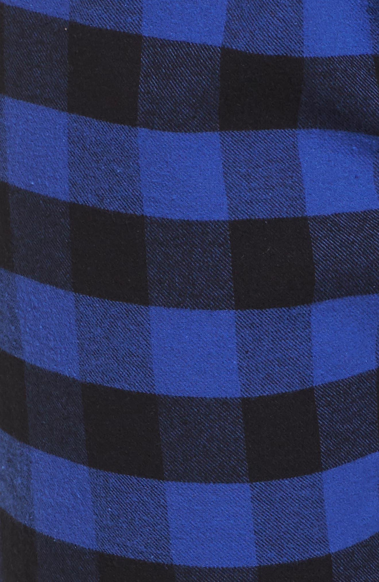 Pajama Pants,                             Alternate thumbnail 5, color,                             Royal