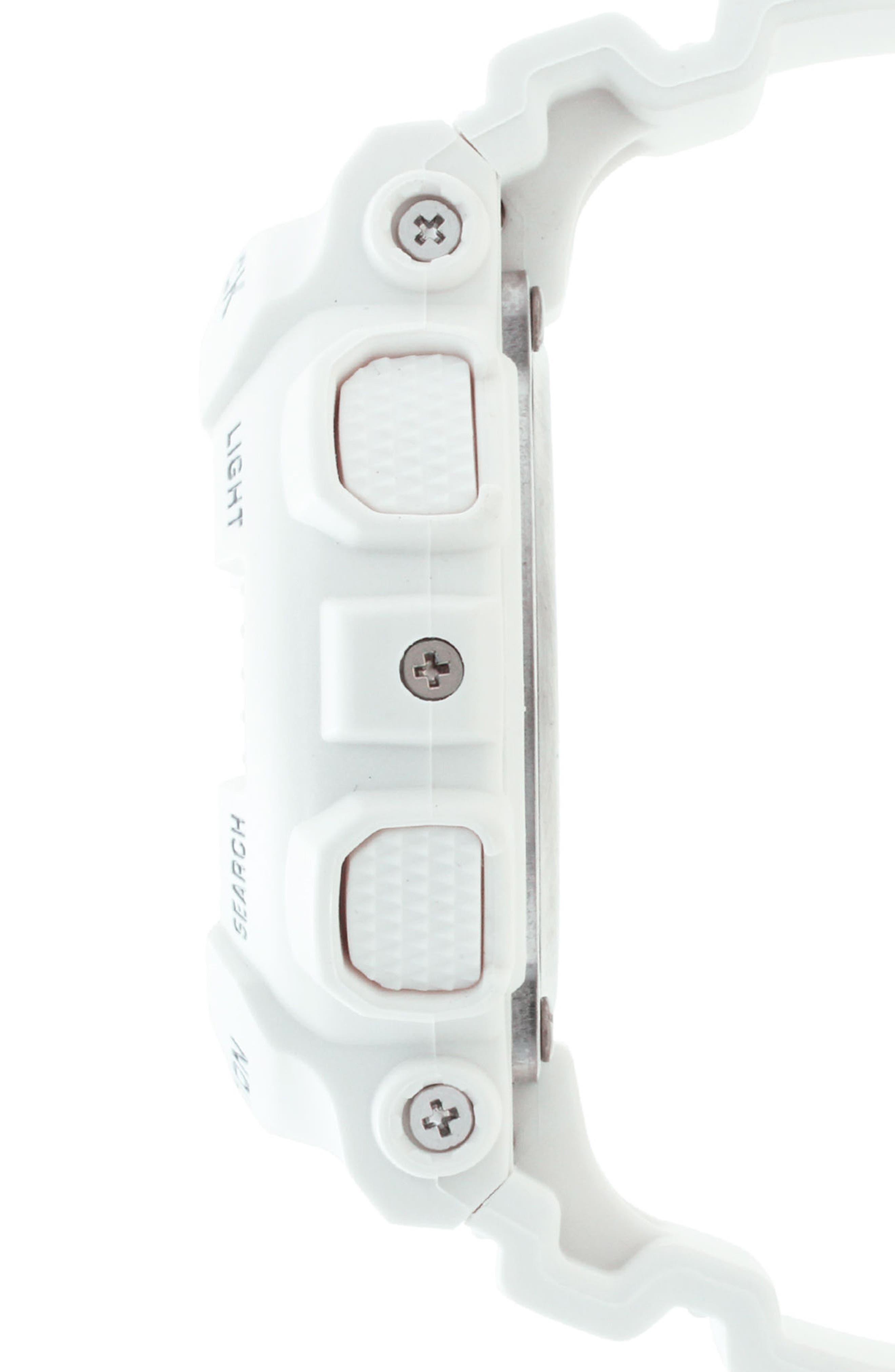 S-Series Resin Ana-Digi Watch, 46mm,                             Alternate thumbnail 2, color,                             White