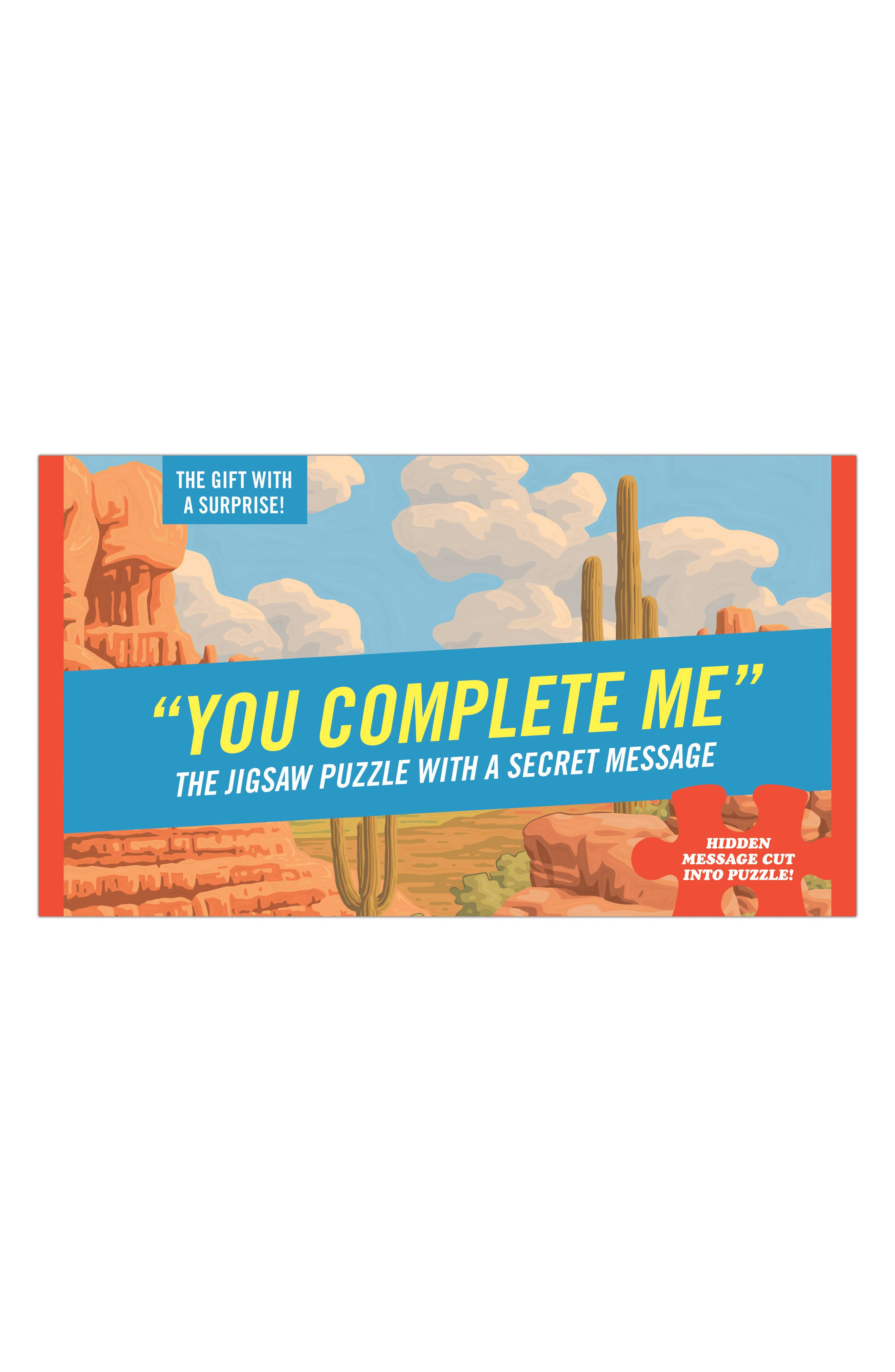 Main Image - Knock Knock You Complete Me Puzzle