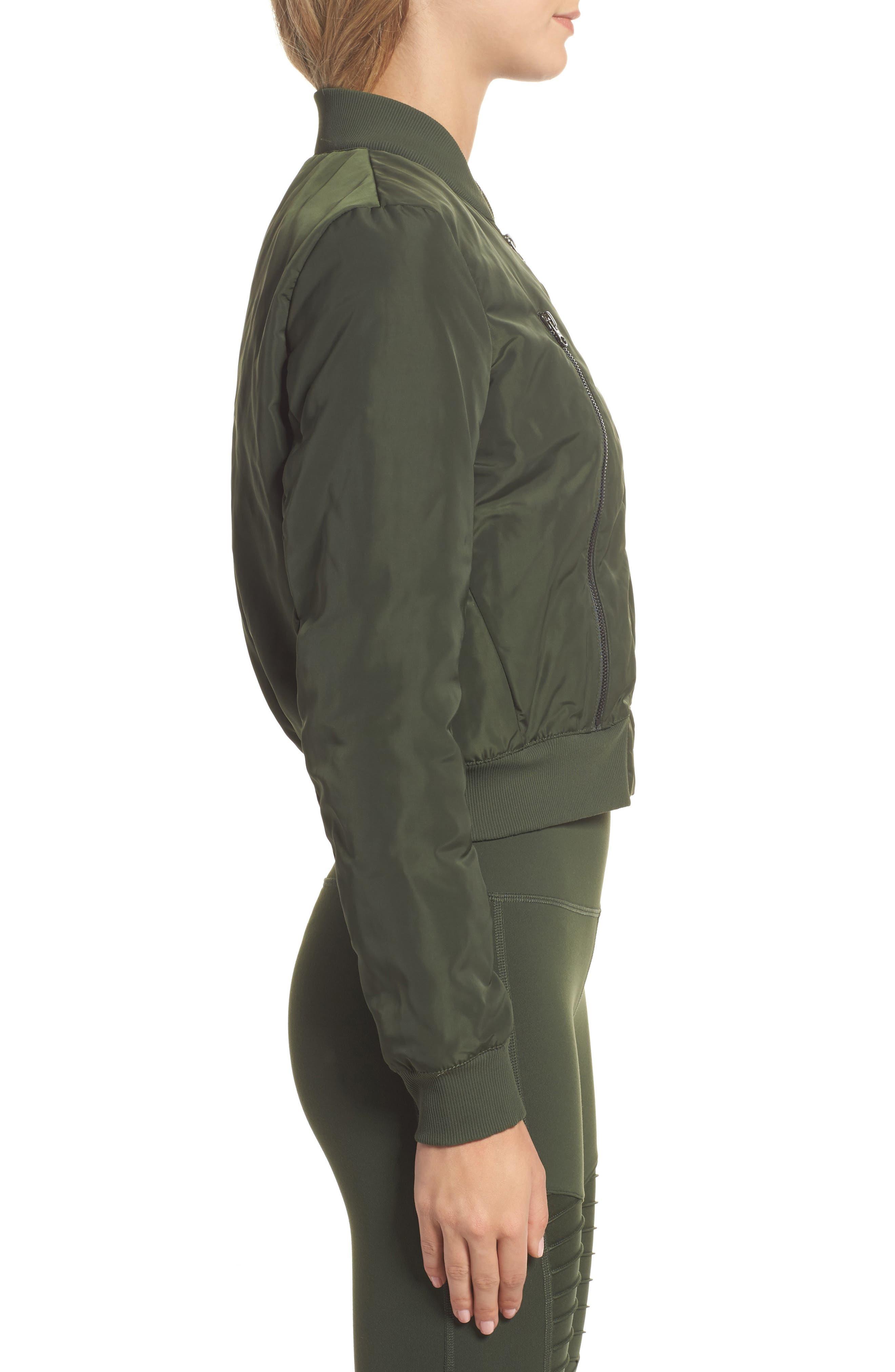 Alternate Image 3  - Alo Off Duty Bomber Jacket