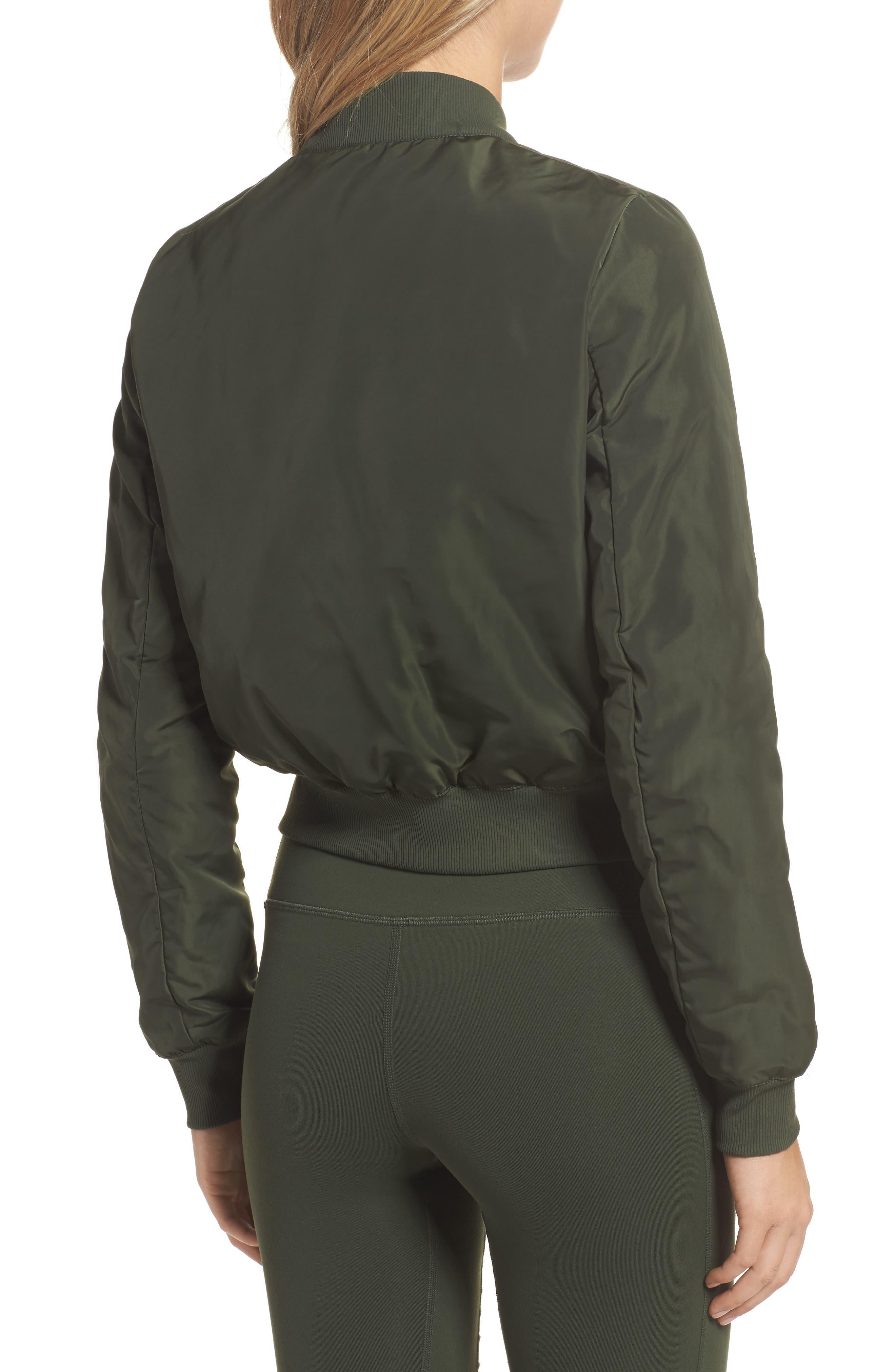 Alternate Image 2  - Alo Off Duty Bomber Jacket