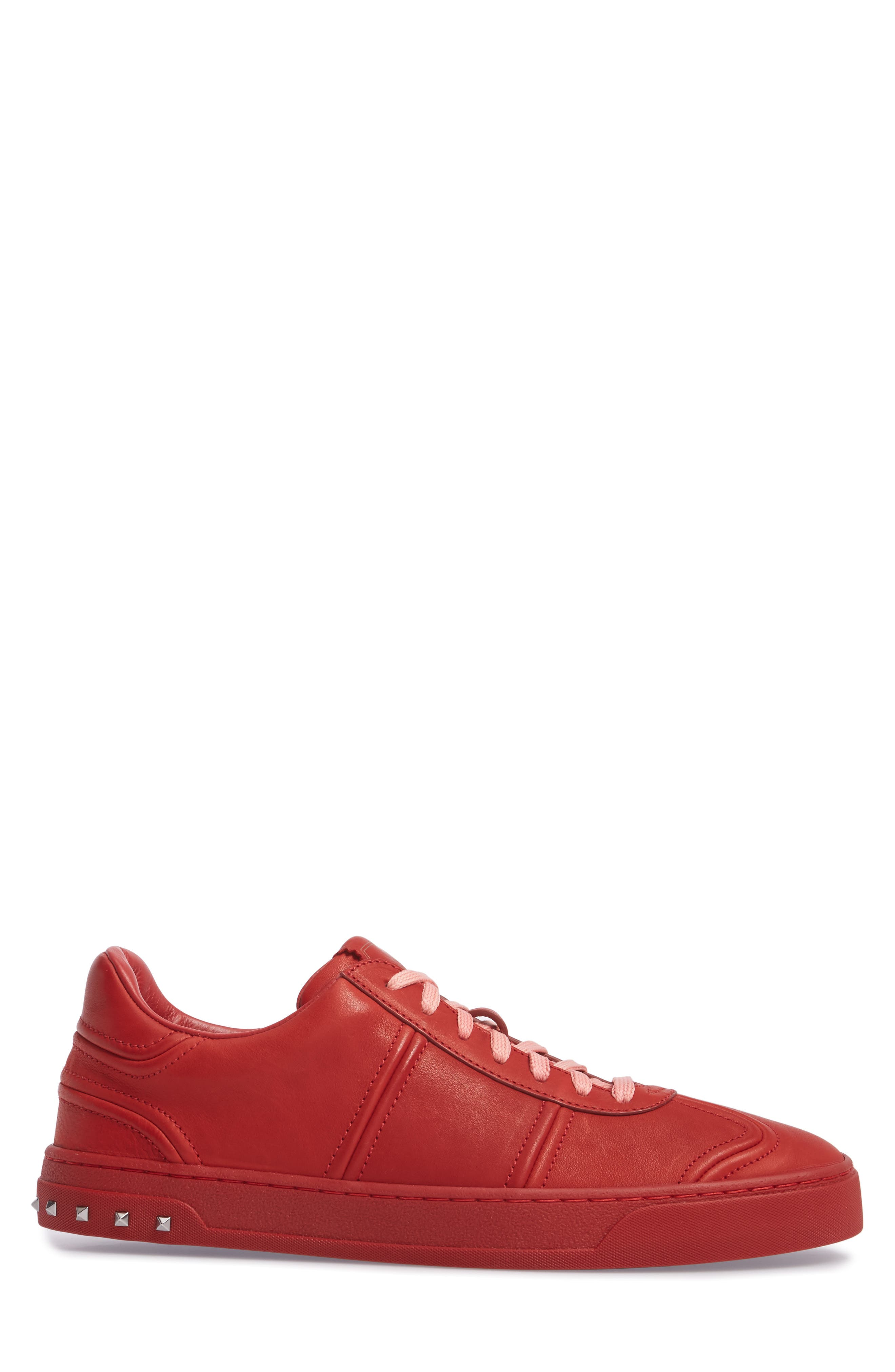 Fly Crew Sneaker,                             Alternate thumbnail 3, color,                             Rosso