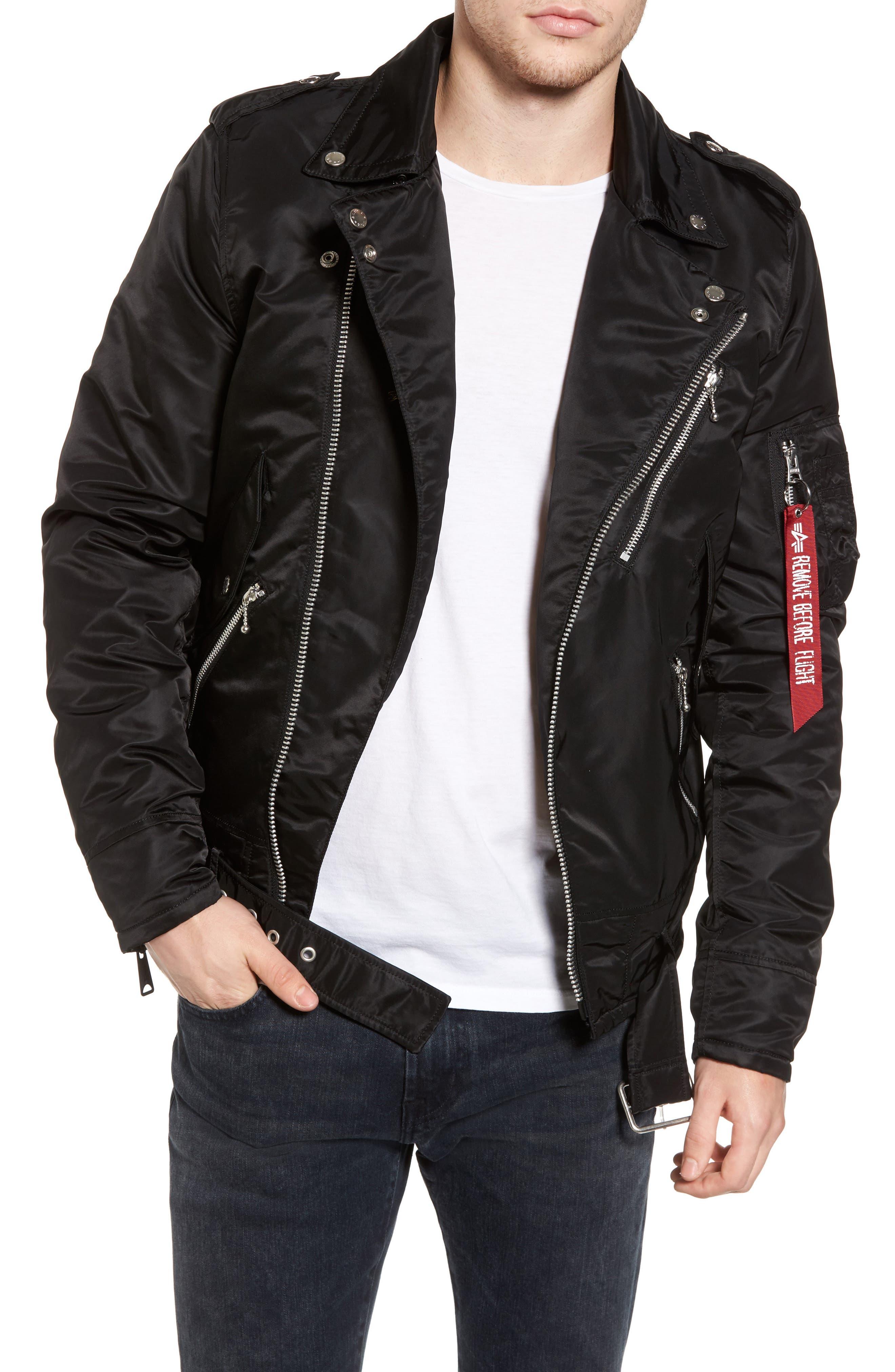 Main Image - Alpha Industries Outlaw Biker Jacket