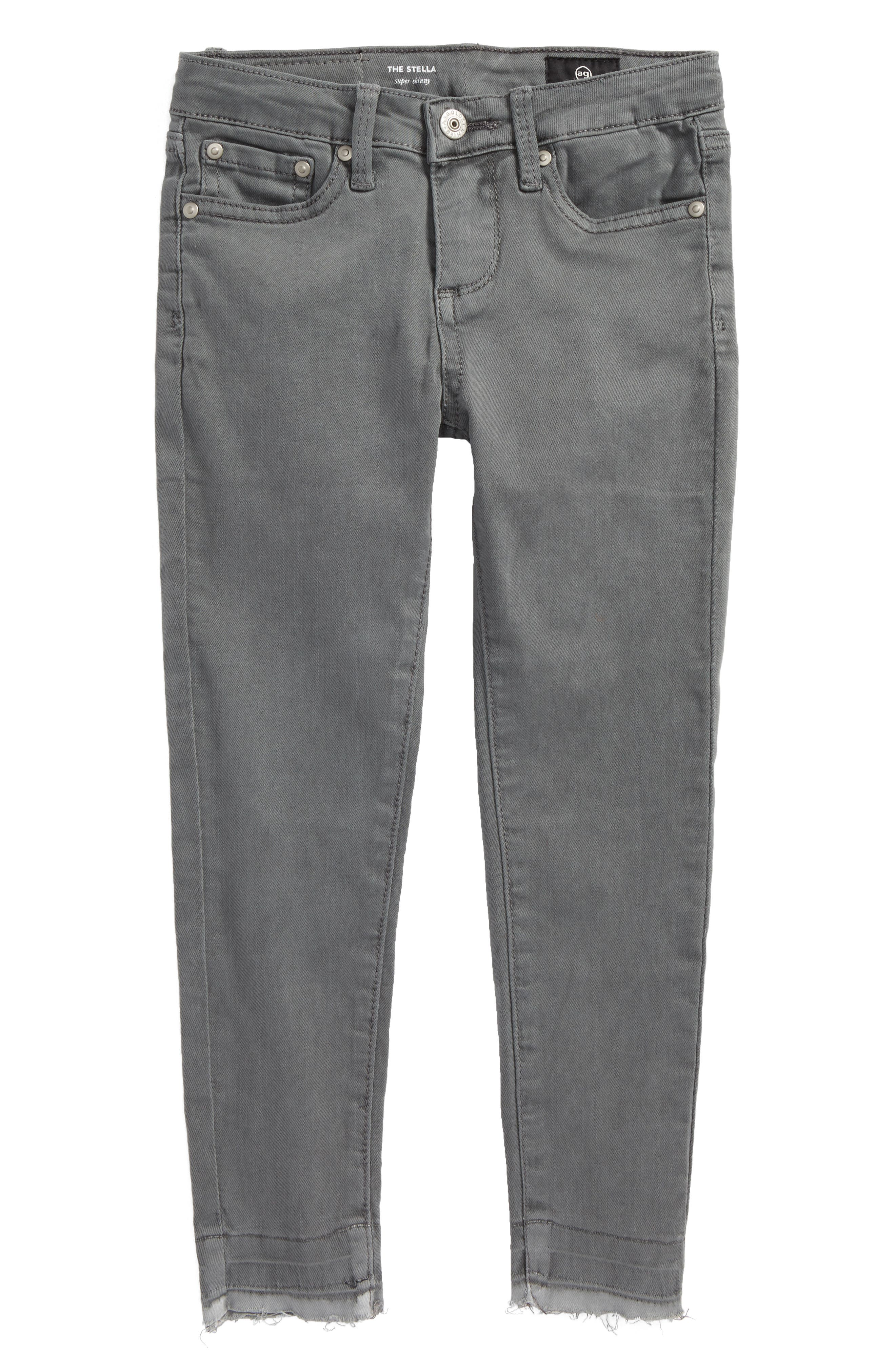 Main Image - ag adriano goldschmied kids The Stella Super Skinny Jeans (Toddler Girls & Little Girls)